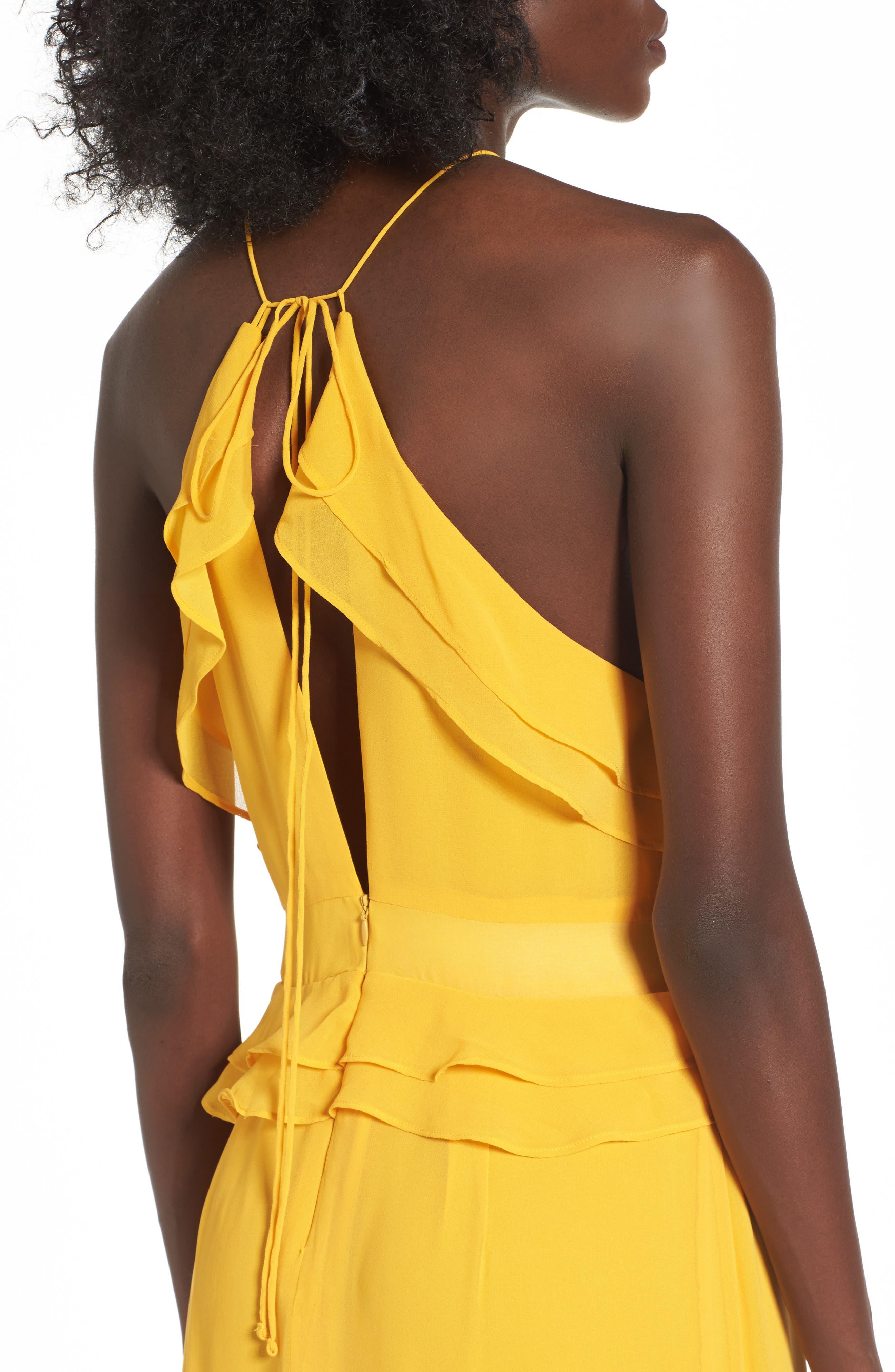Alternate Image 4  - AFRM Violet Maxi Dress