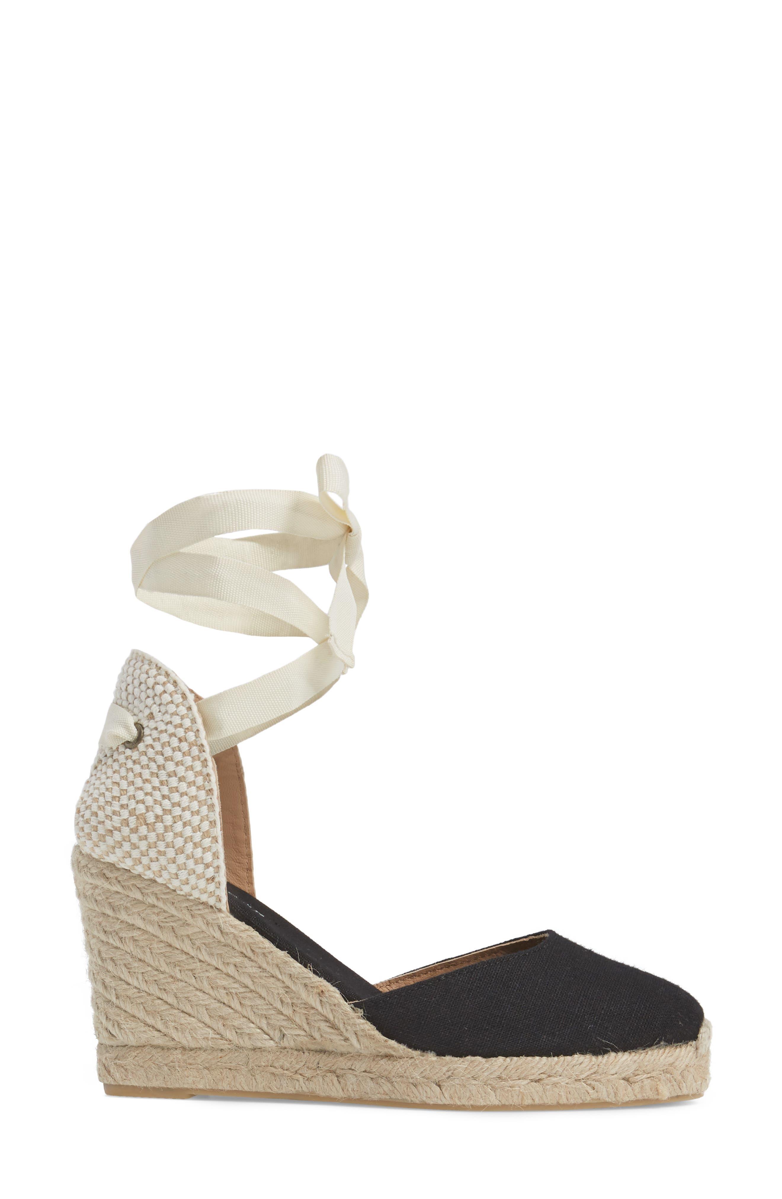 Alternate Image 3  - Soludos Wedge Lace-Up Espadrille Sandal (Women)