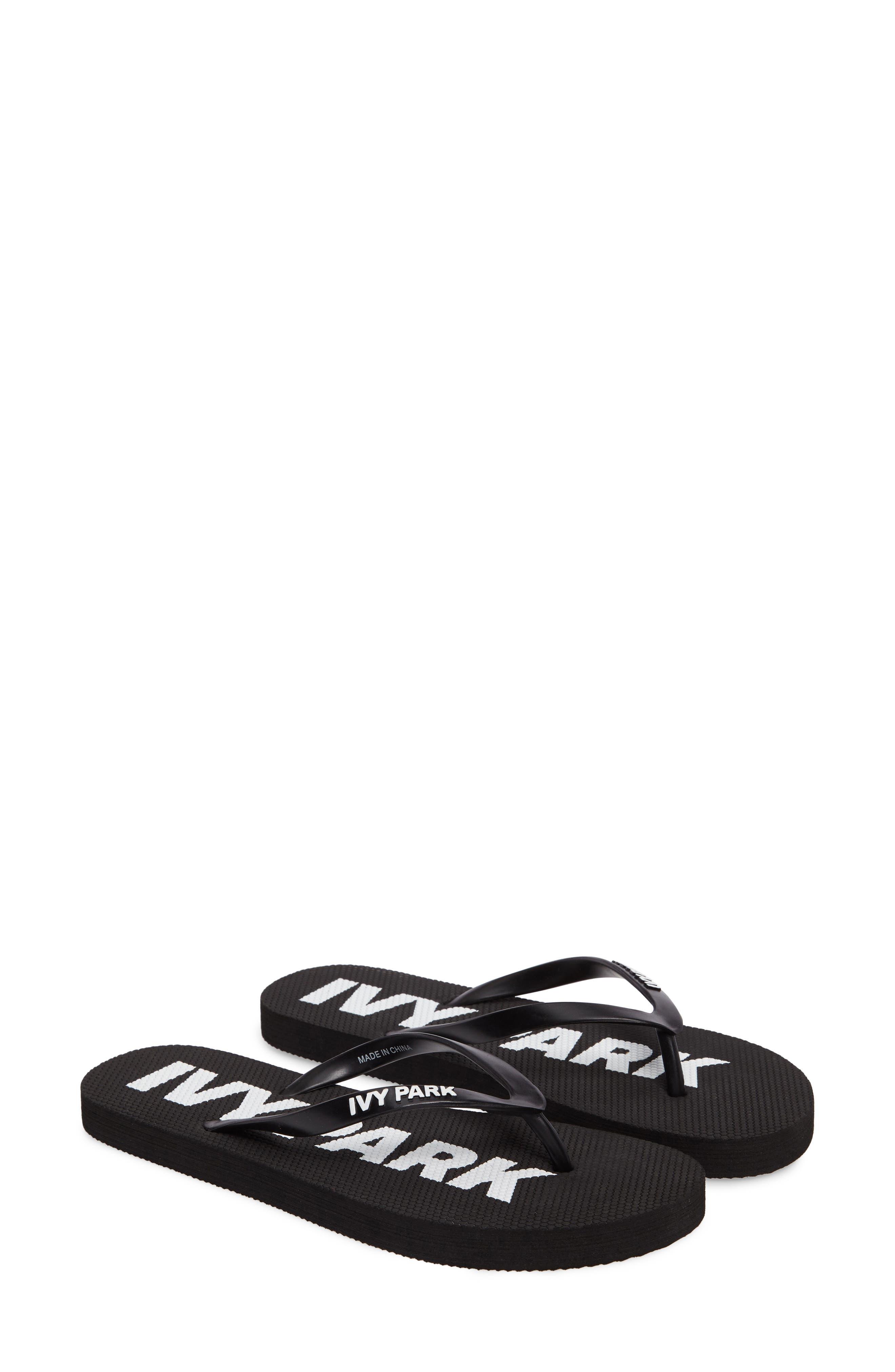 Alternate Image 2  - IVY PARK® Logo Flip Flops (Women)