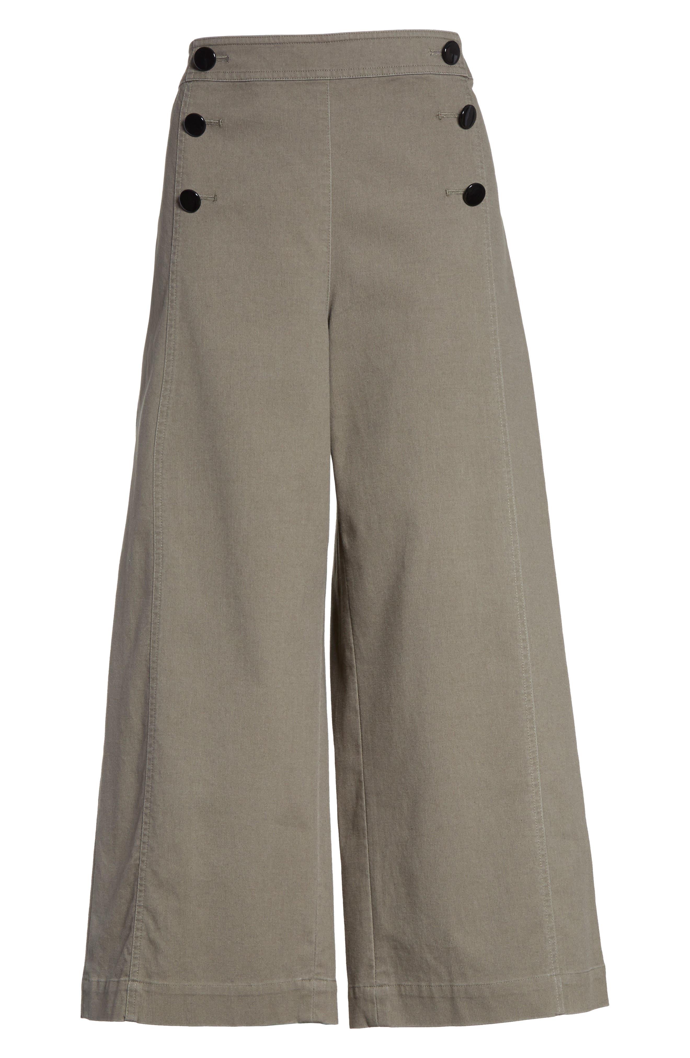 Alternate Image 6  - kate spade new york crop military pants