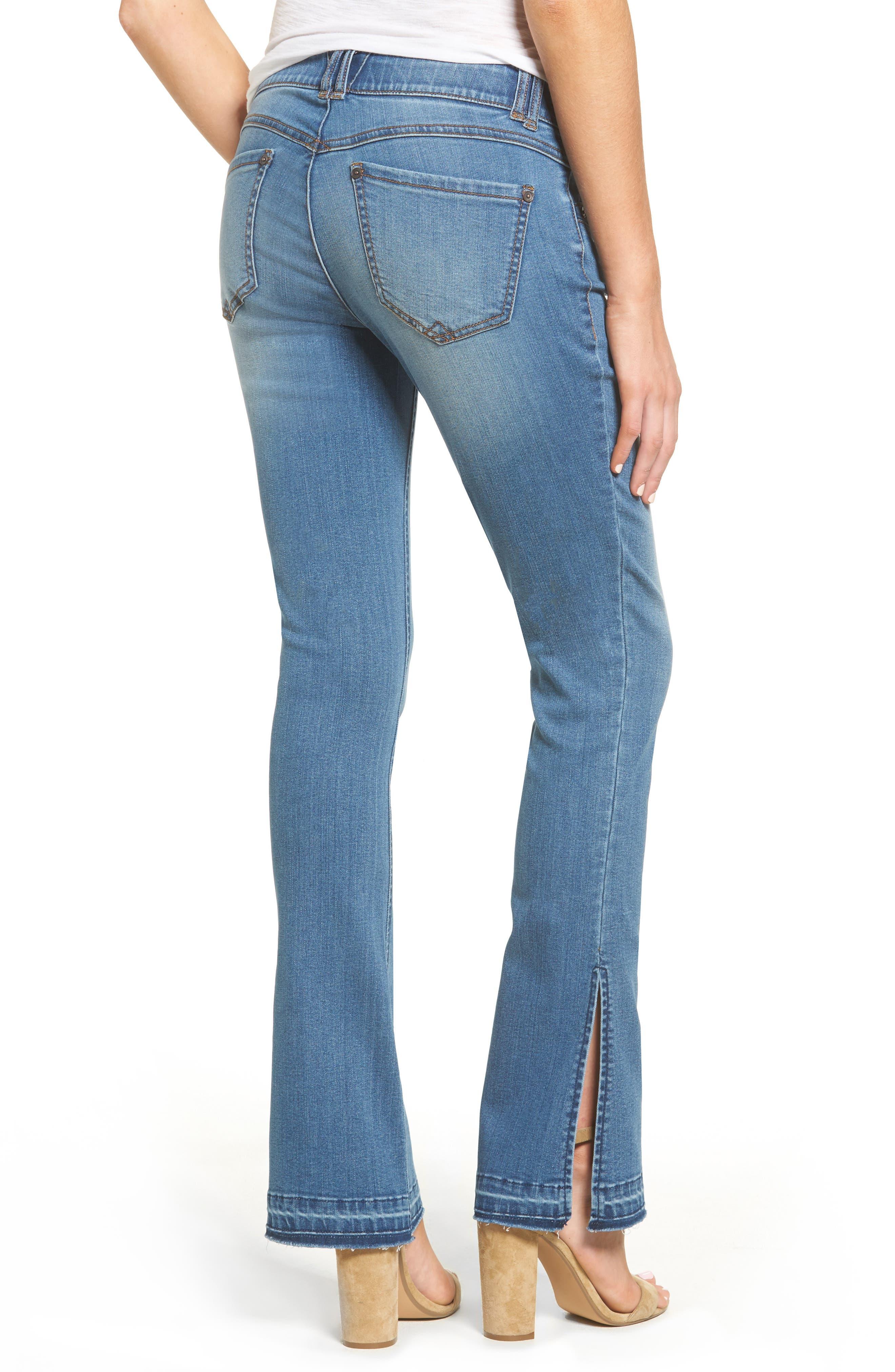 Alternate Image 2  - Wit & Wisdom Ab-solution Split Release Hem Jeans (Regular & Petite) (Nordstrom Exclusive)