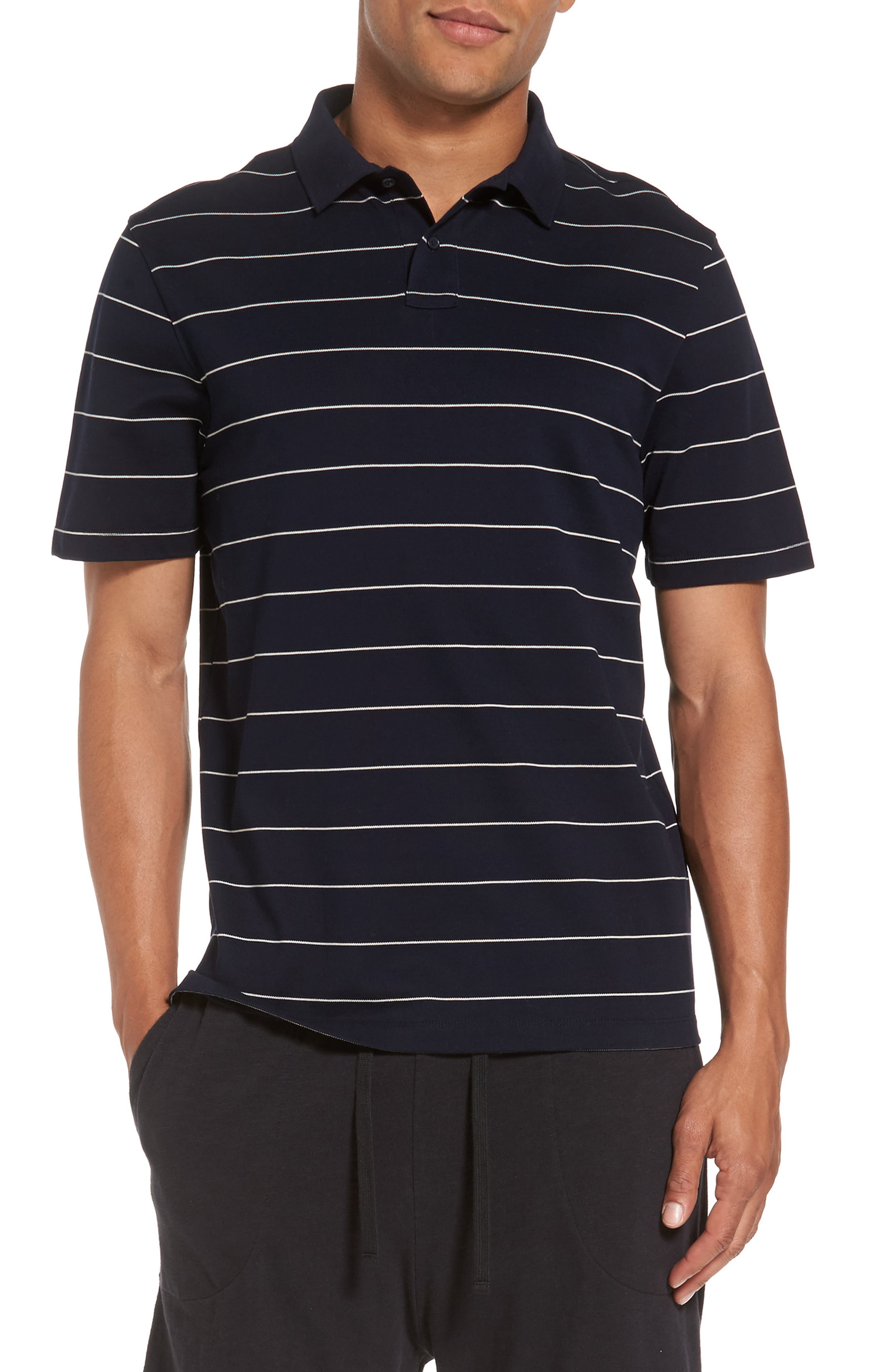 Vince Stripe Polo