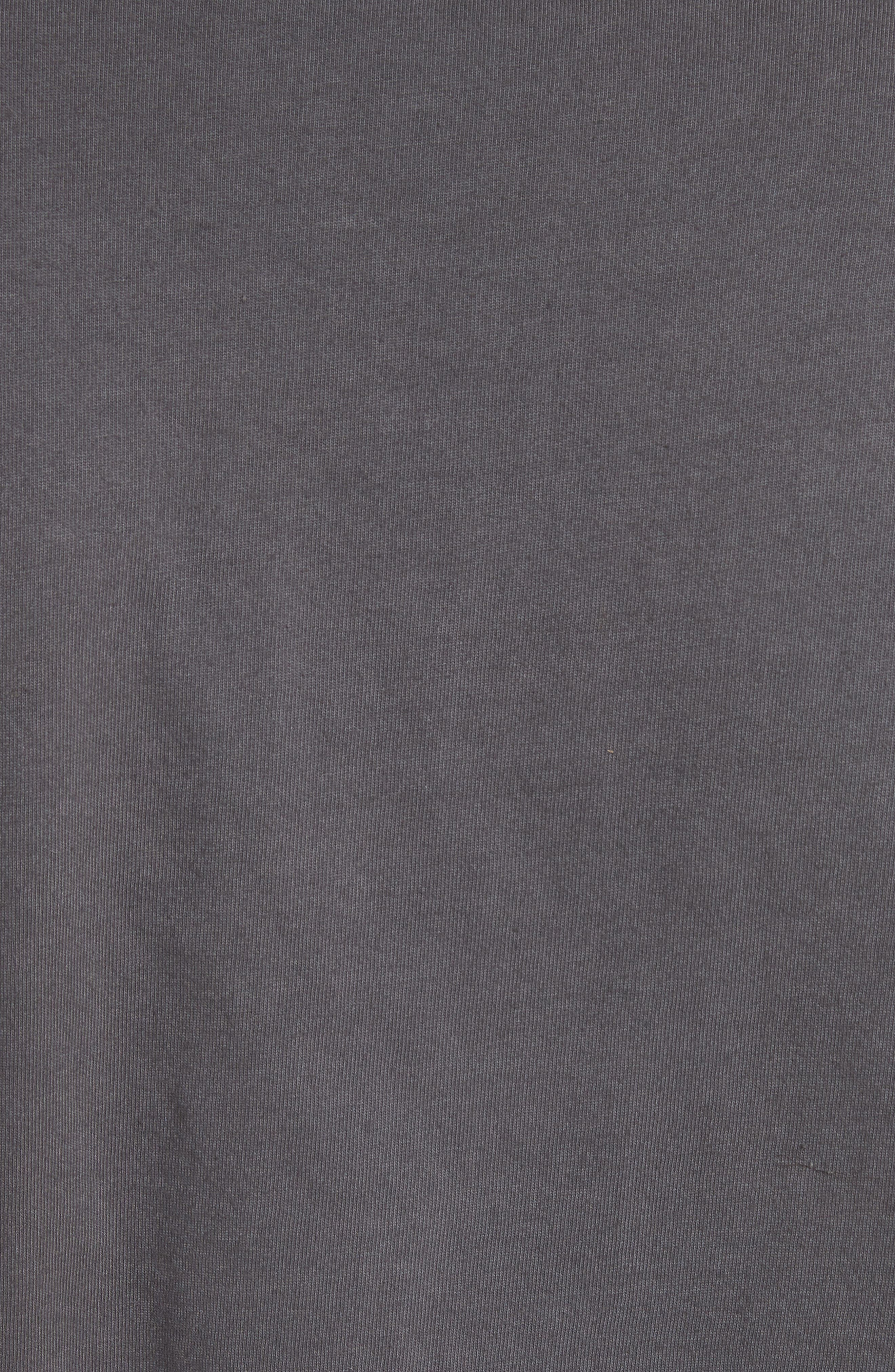 Misery Graphic Tee,                             Alternate thumbnail 5, color,                             Grey
