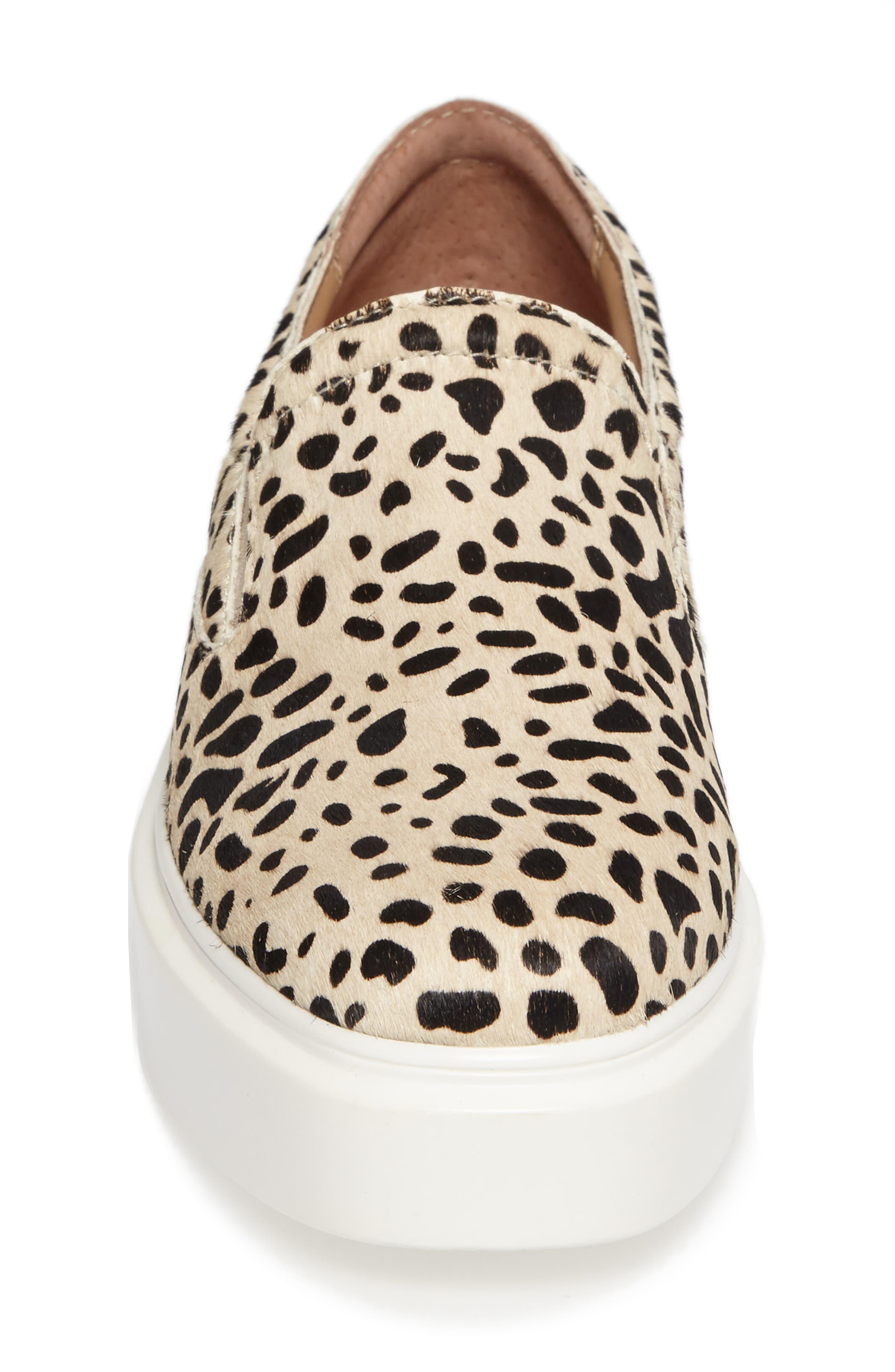 Alternate Image 4  - Linea Paolo Fairfax II Genuine Calf Hair Platform Sneaker (Women)