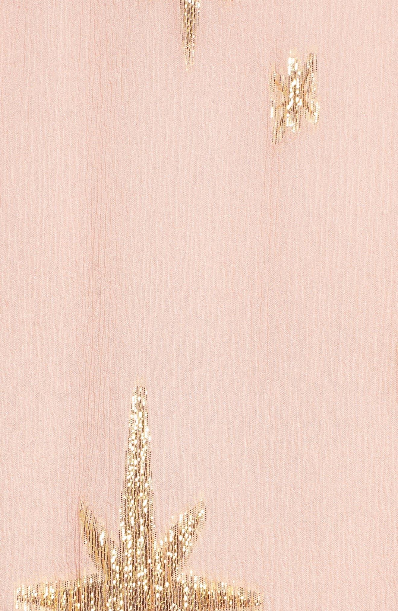 Alternate Image 5  - For Love & Lemons Gilded Star Minidress