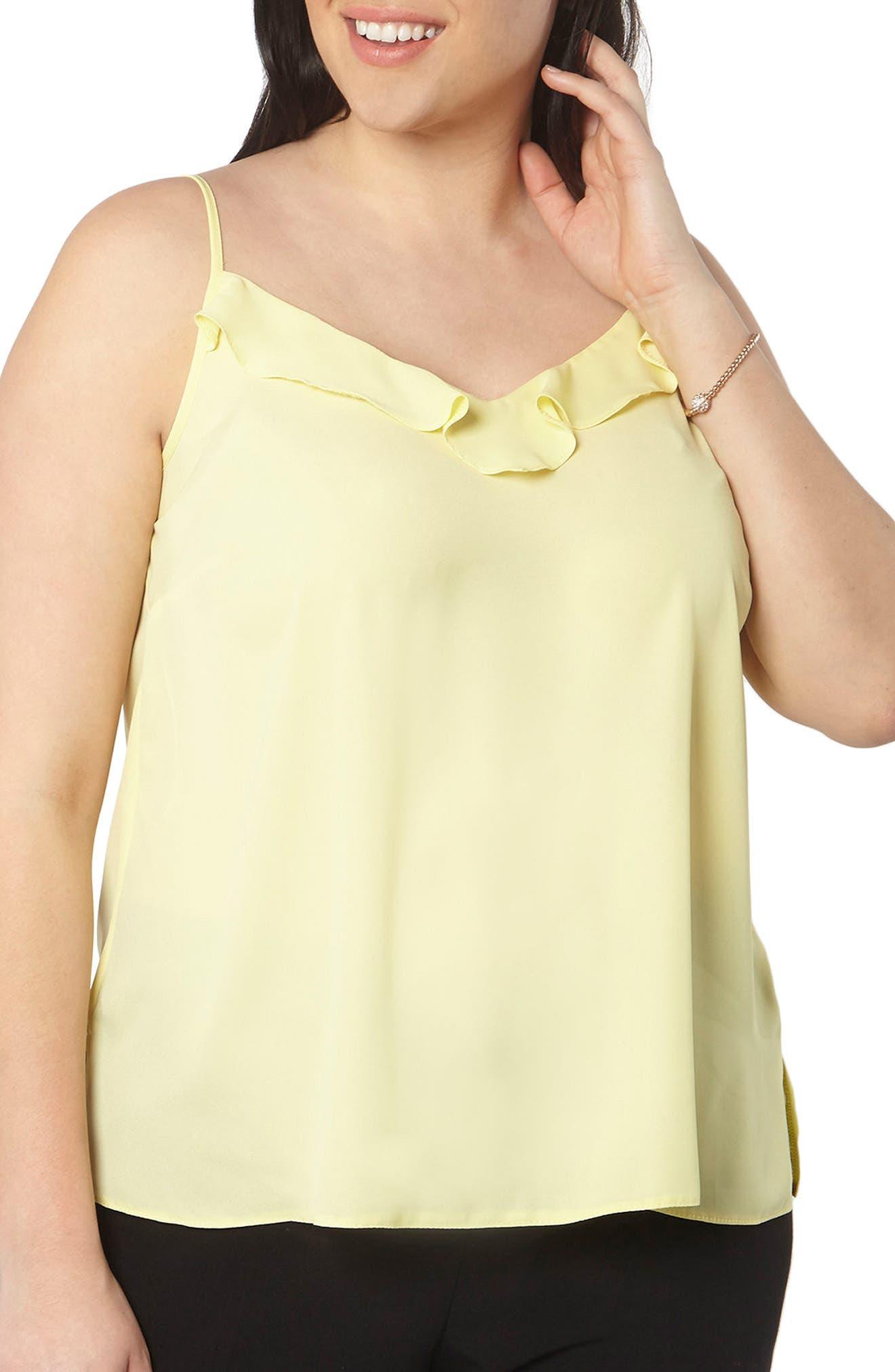 Evans Frill Front Camisole (Plus Size)