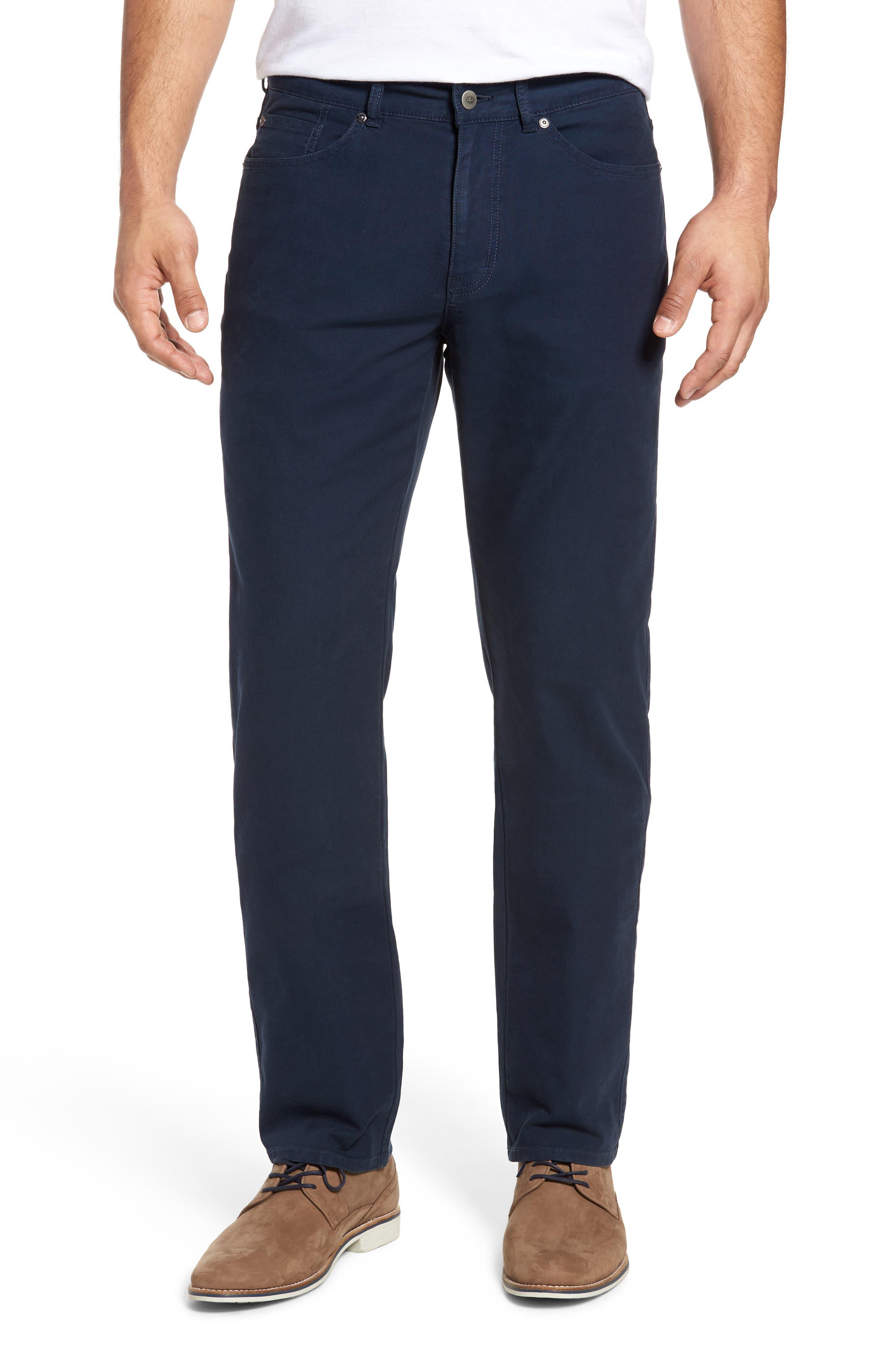 Peter Millar Crown Vintage Canvas Pants (Tall)