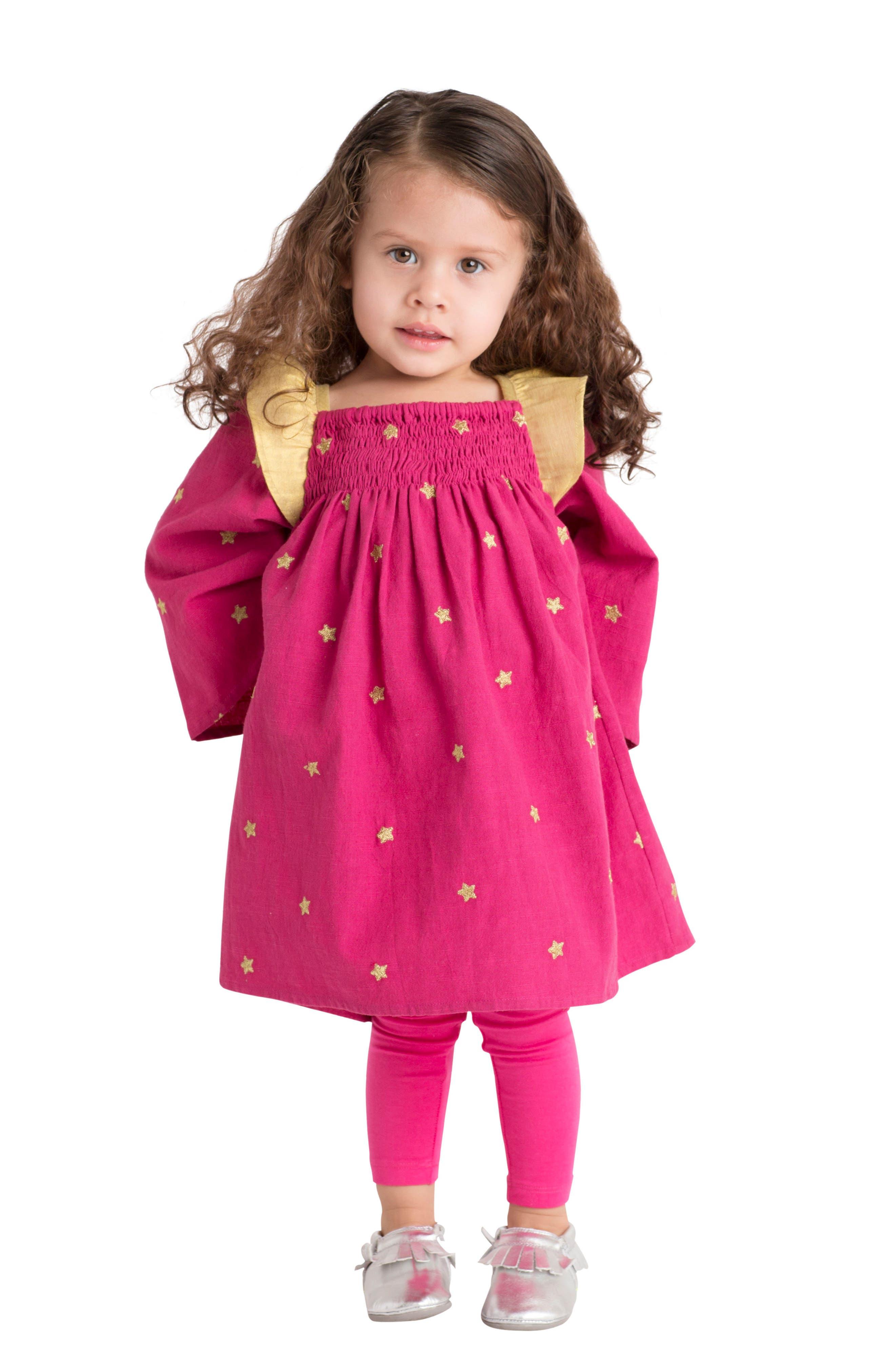 Alternate Image 2  - Masalababy Galaxy Dress (Baby Girls)