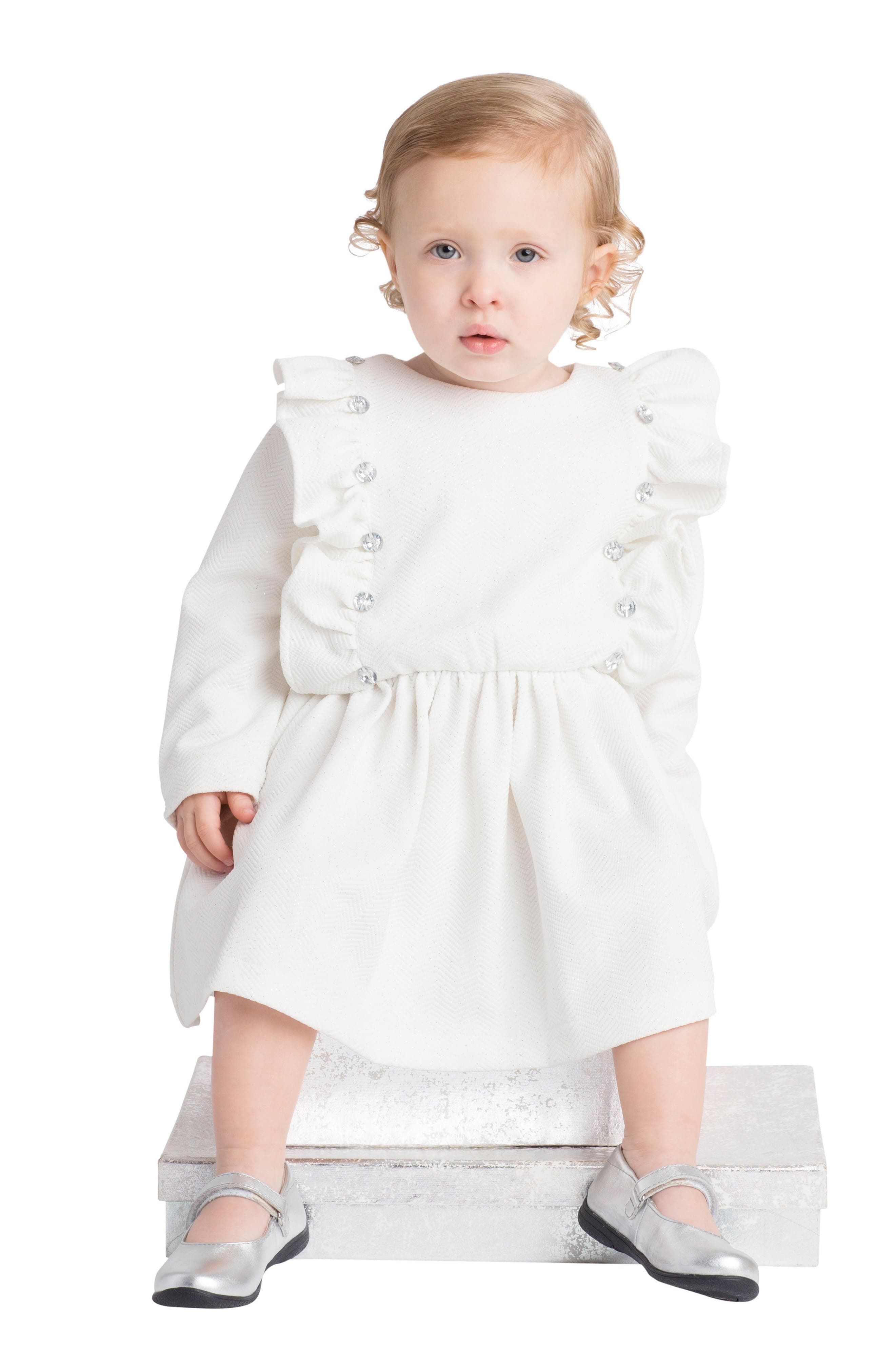 Alternate Image 3  - Masalababy Fantasia Dress (Baby Girls)