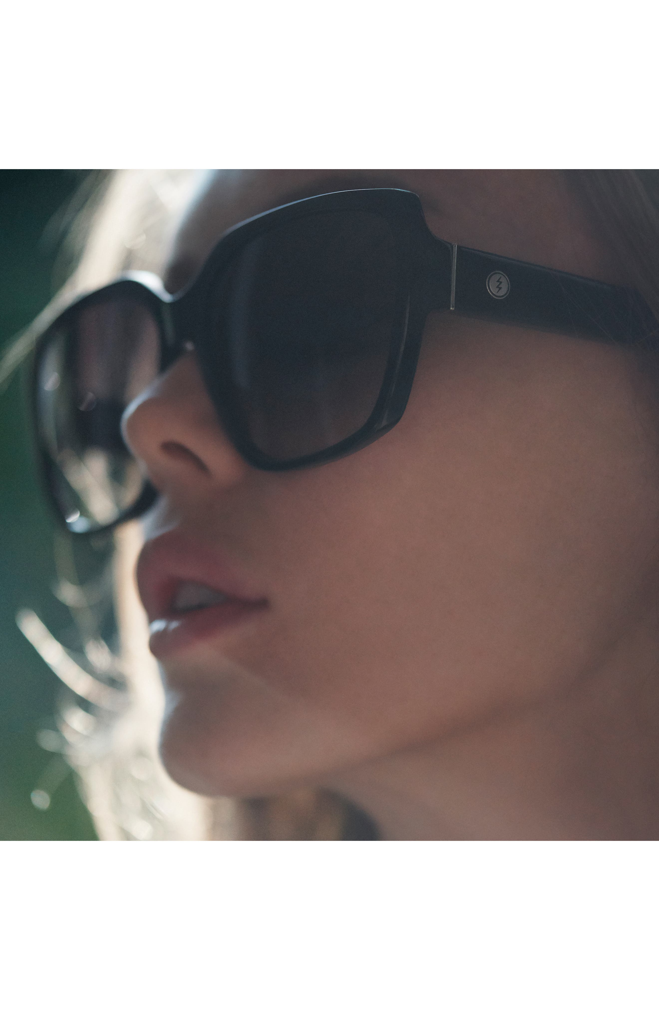 Alternate Image 6  - Electric Honey Bee 60mm Mirrored Sunglasses
