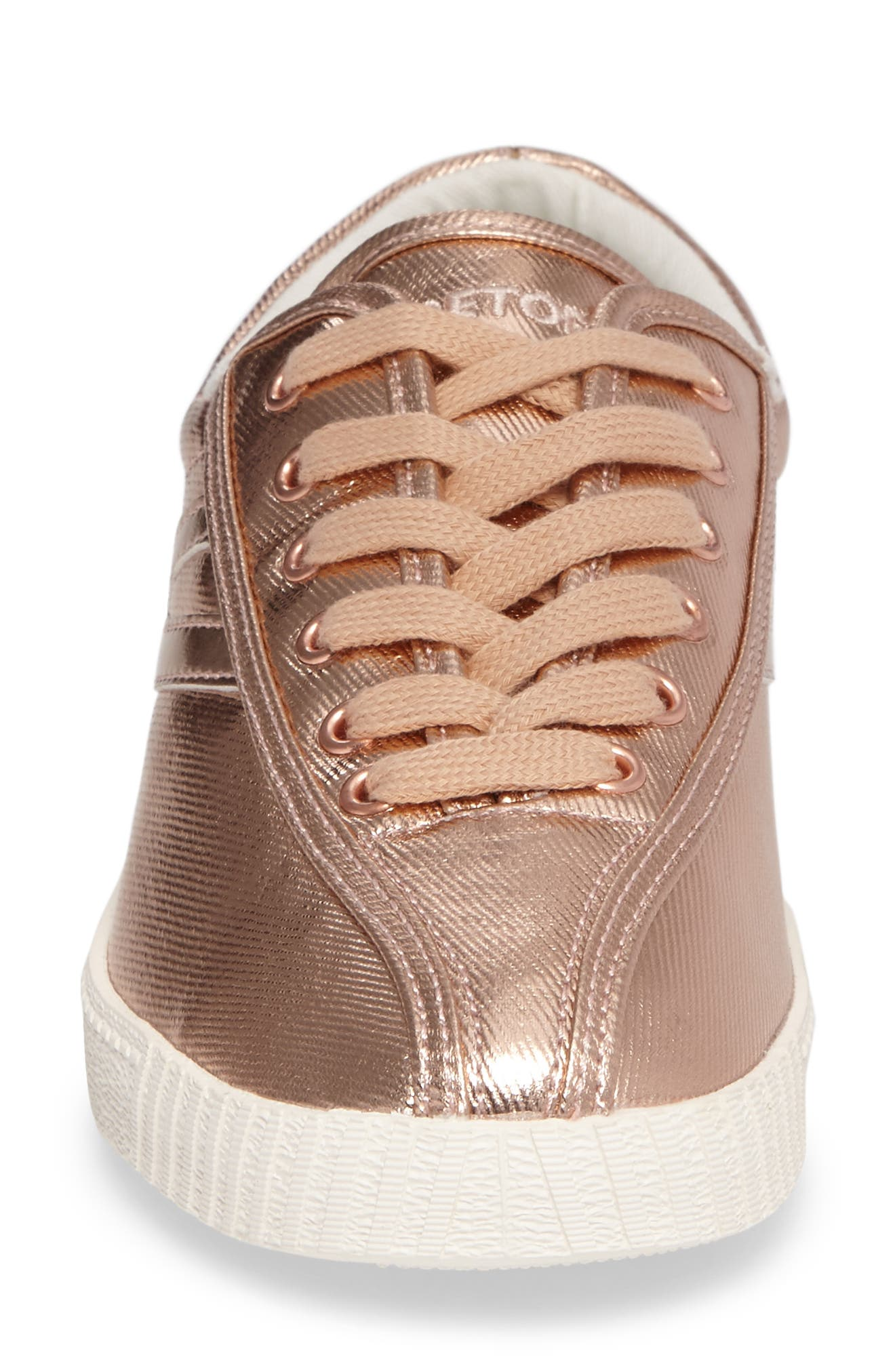 Nylite Plus Sneaker,                             Alternate thumbnail 4, color,                             Rose Gold/ Rose Gold