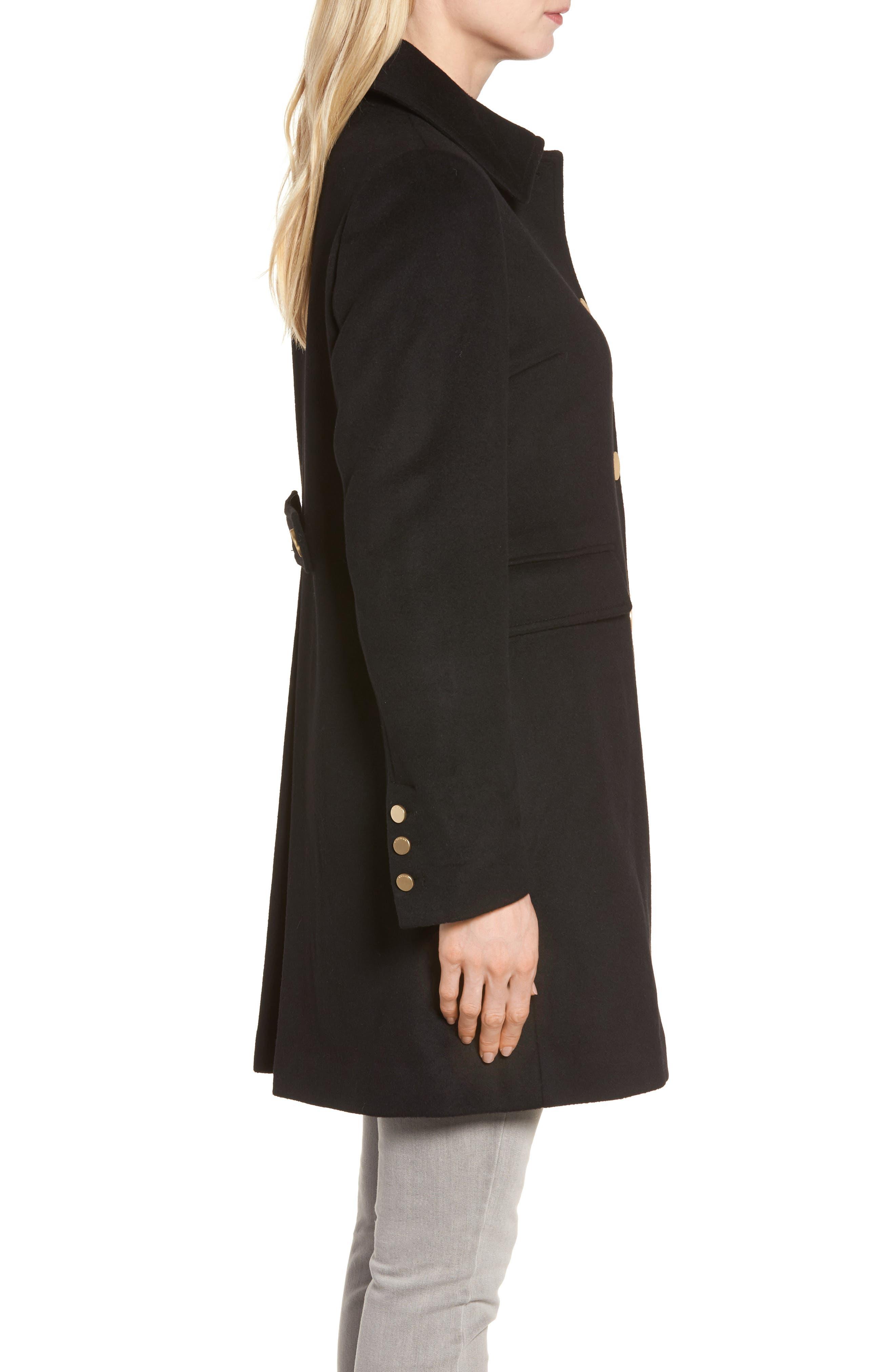 Alternate Image 3  - Tahari Sophia Wool A-Line Coat