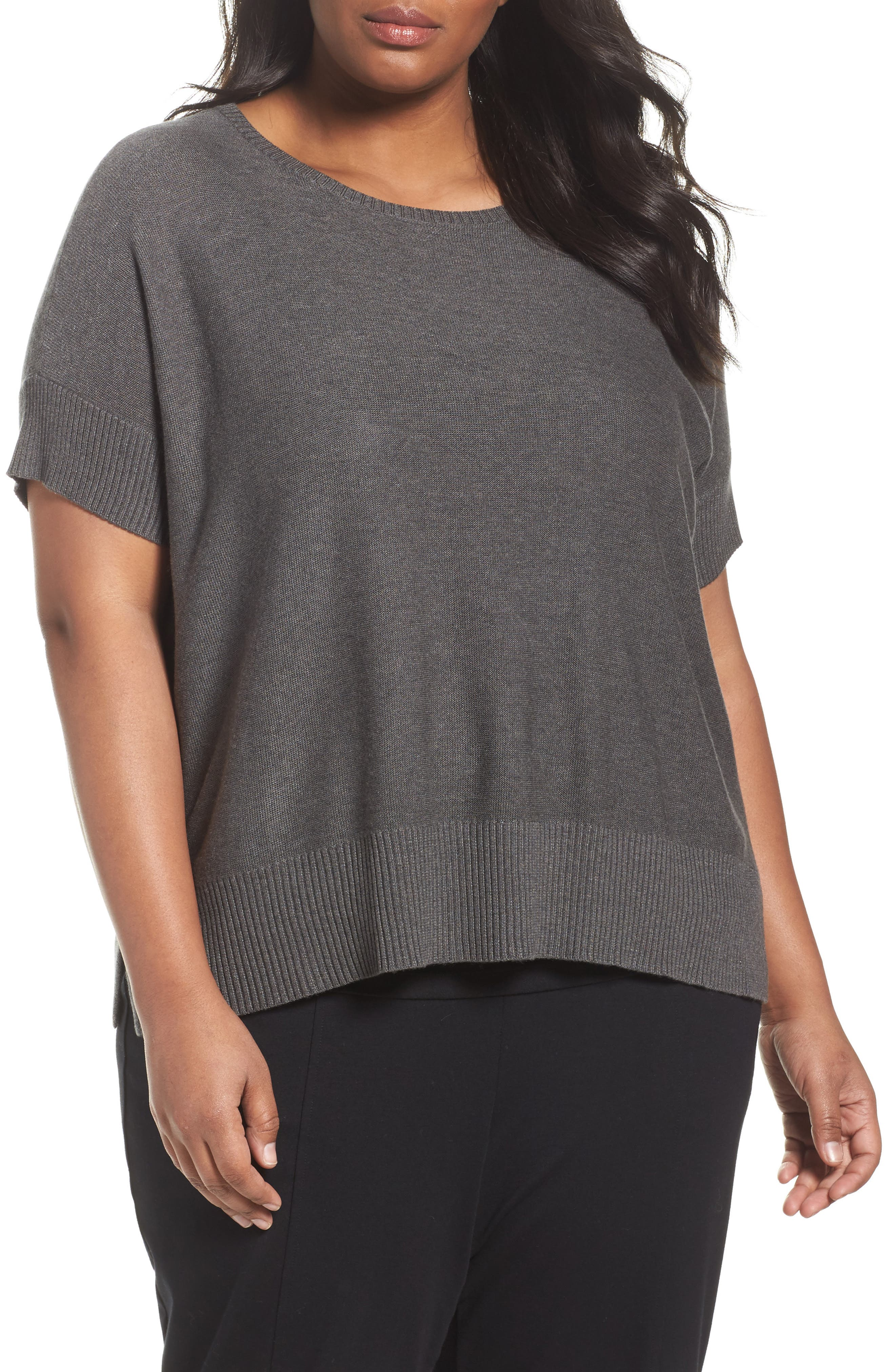 EILEEN FISHER Tencel<sup>®</sup> & Merino Wool Top