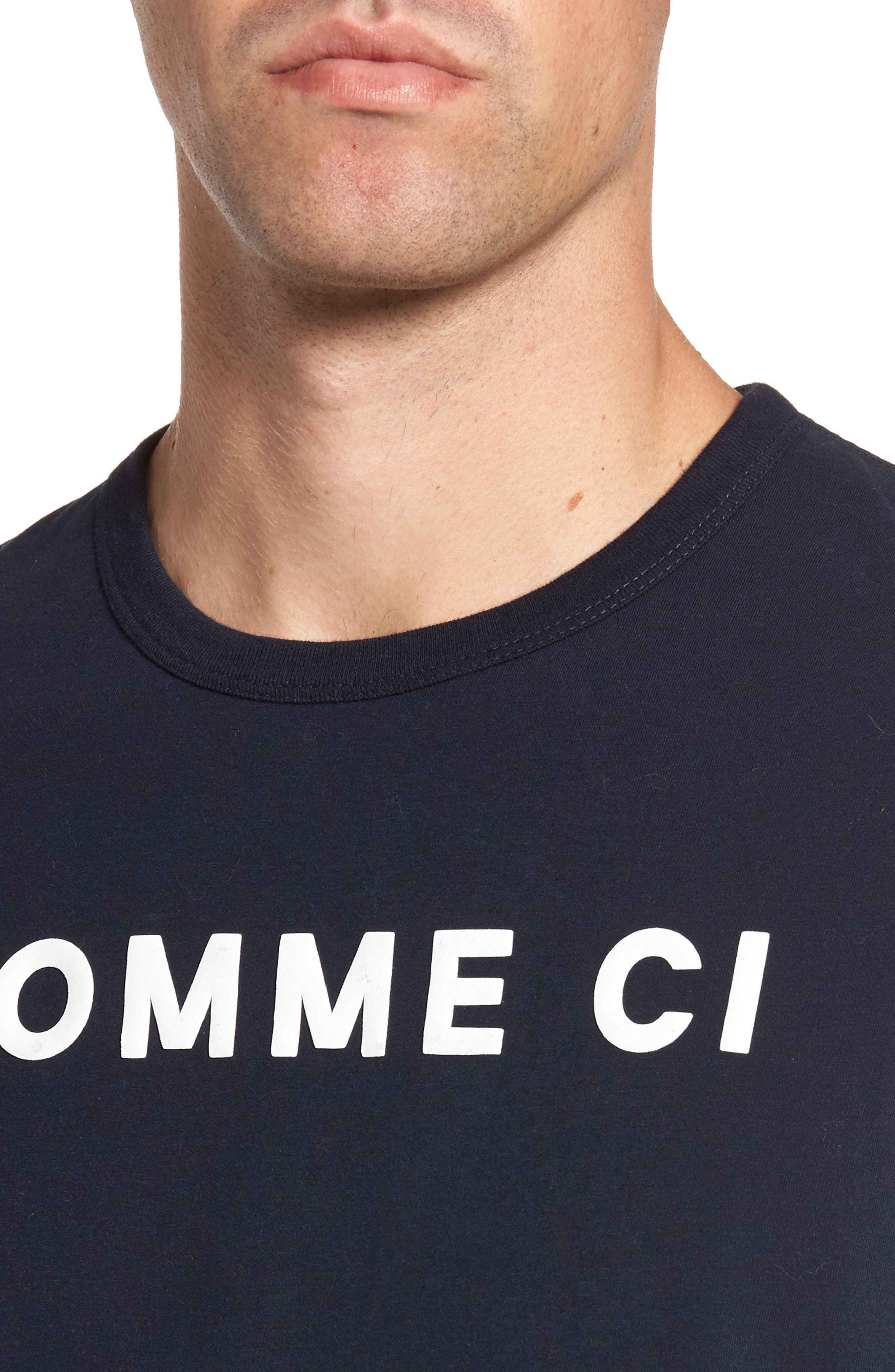 Alternate Image 4  - French Connection Comme Ci Comme Ça Regular Fit T-Shirt