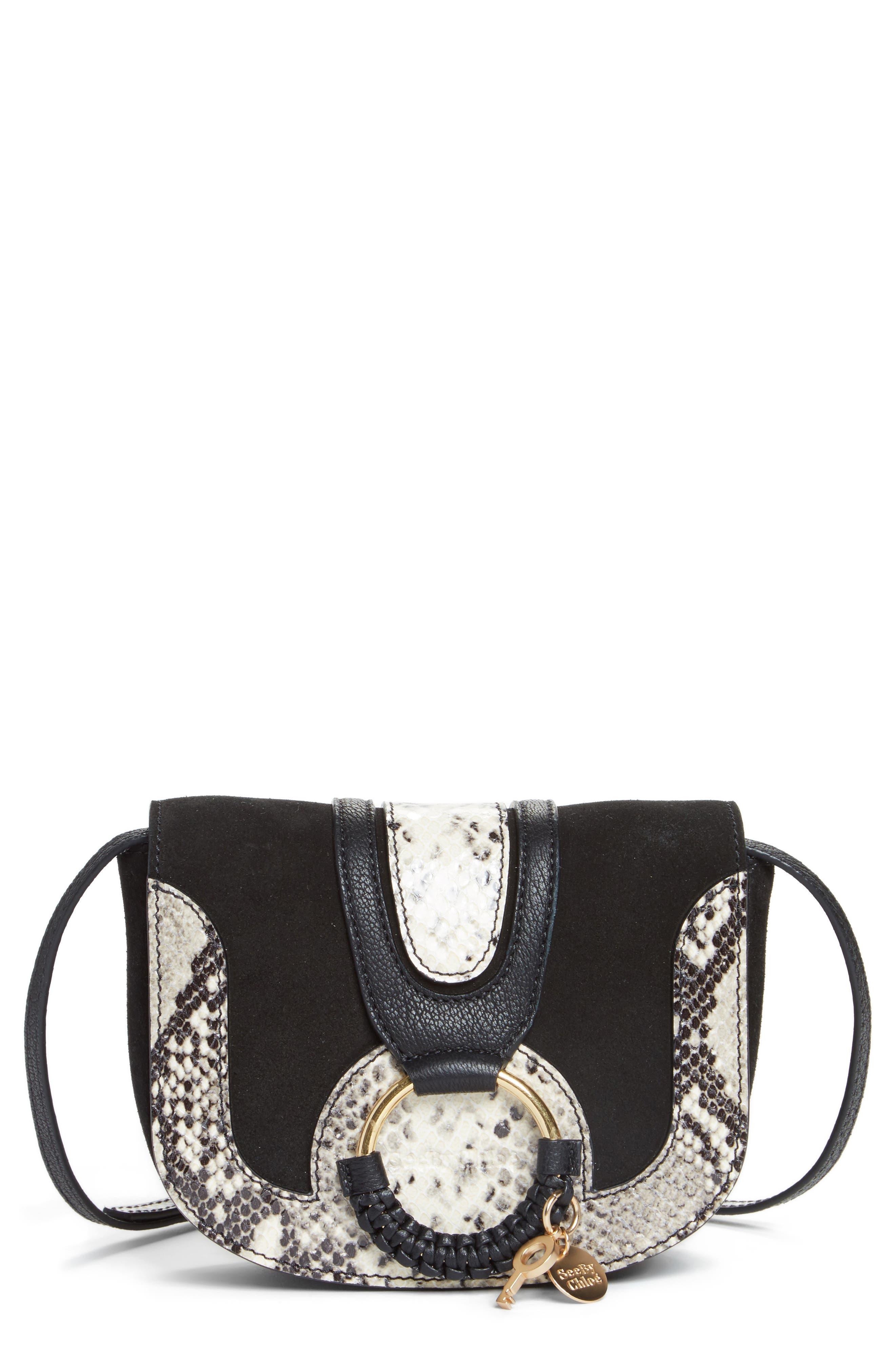 Main Image - See by Chloé Mini Hana Leather Crossbody Bag