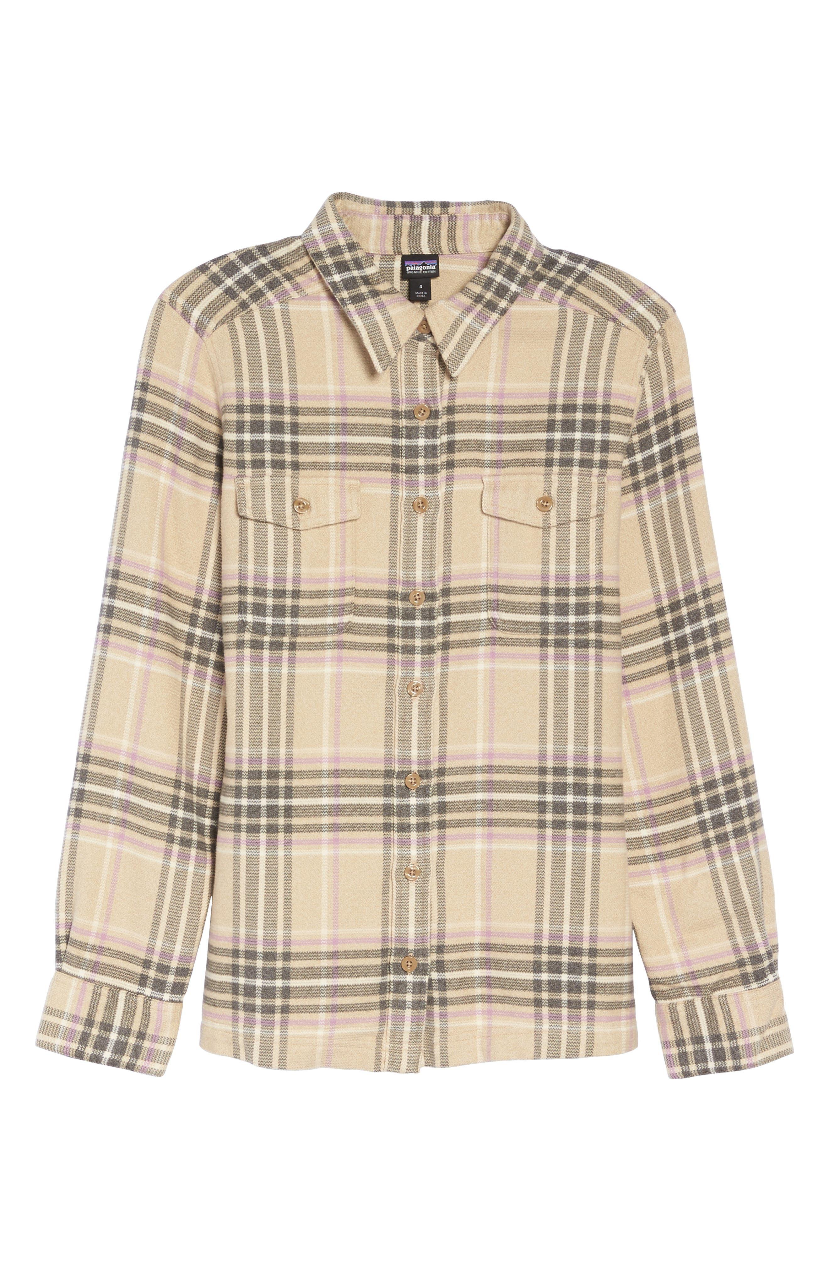 Main Image - Patagonia 'Fjord' Flannel Shirt