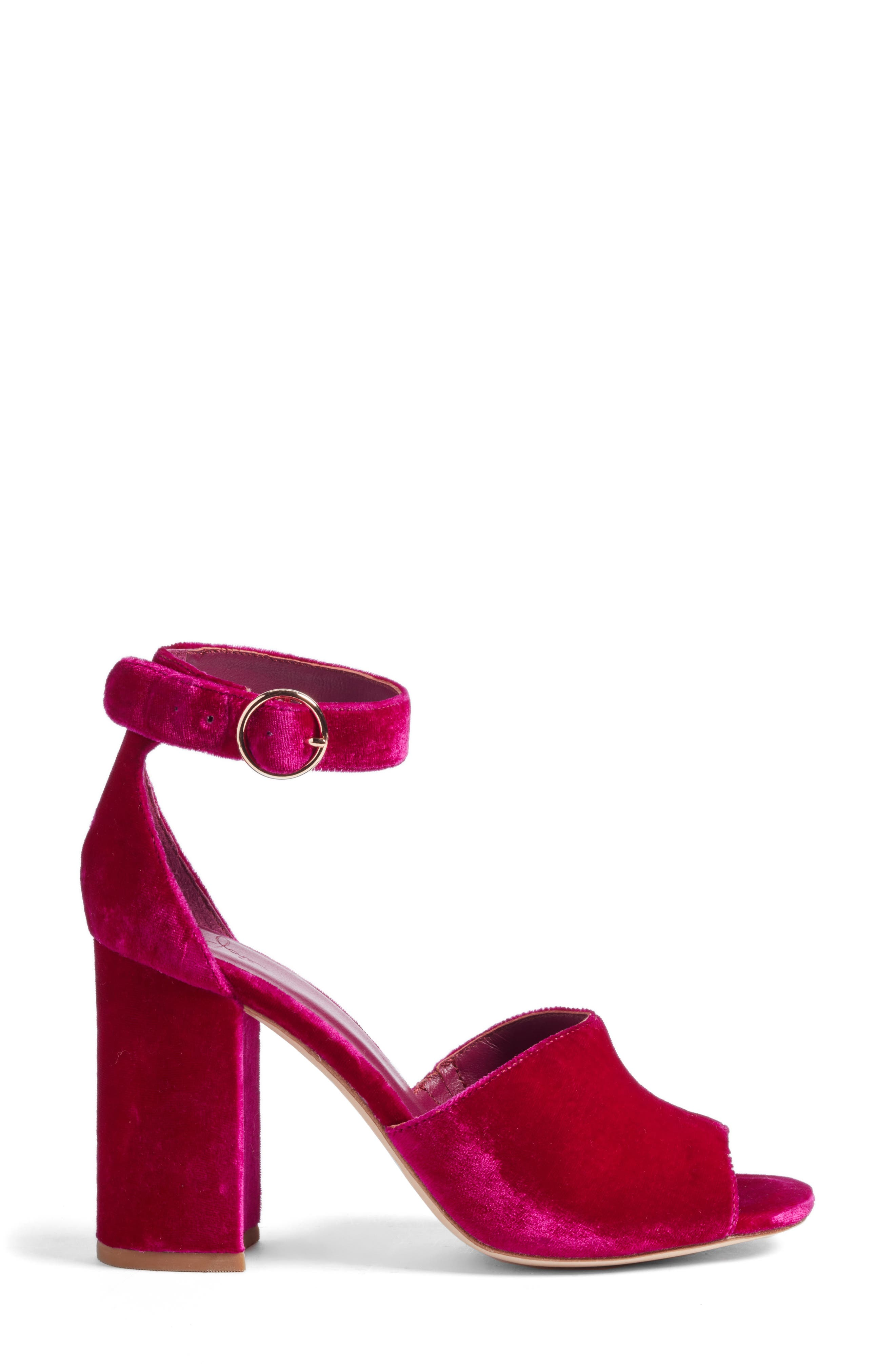 Alternate Image 3  - Joie Lahoma Block Heel Sandal (Women)