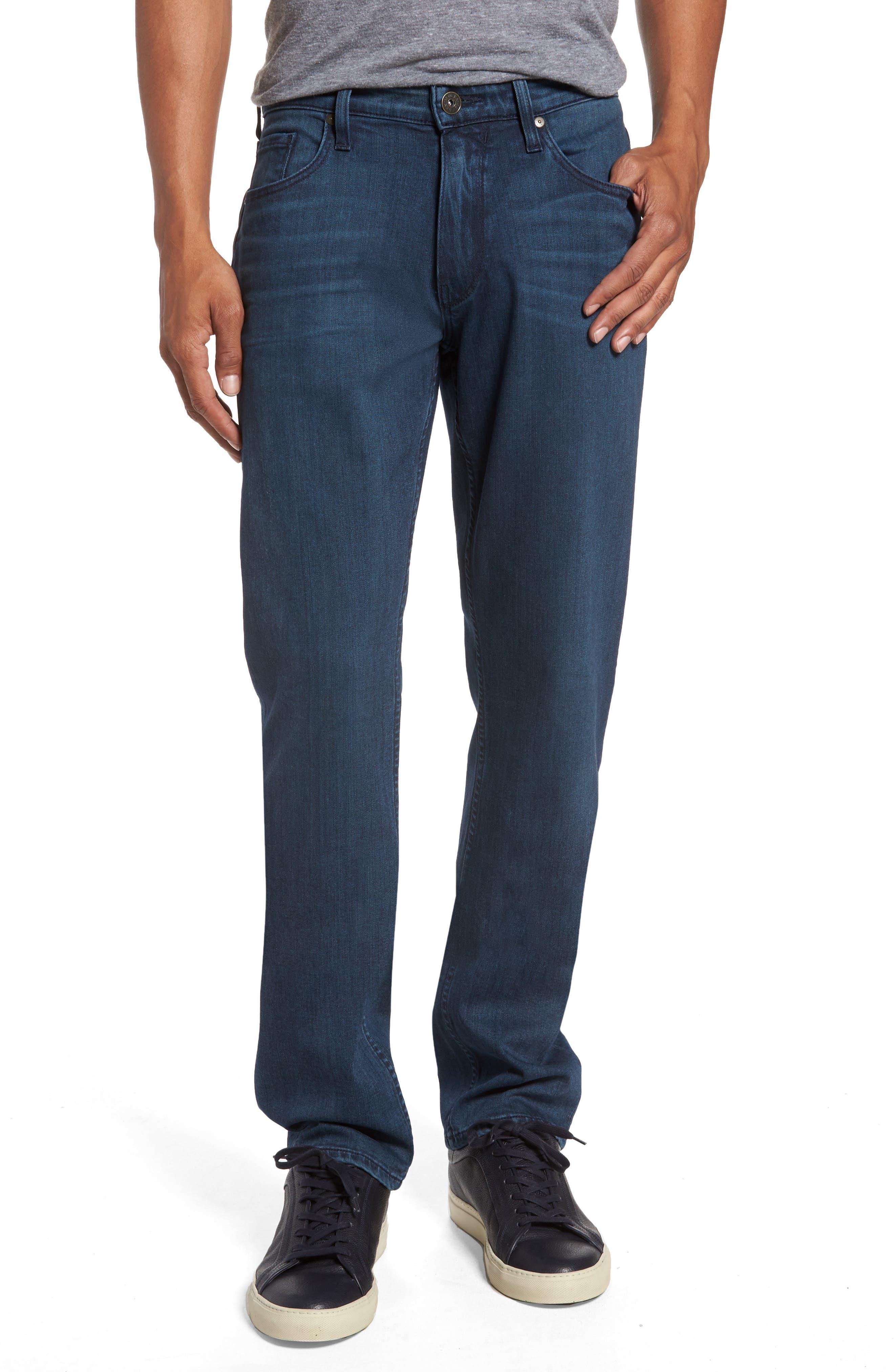 Transcend - Federal Slim Straight Fit Jeans,                         Main,                         color, Elroy
