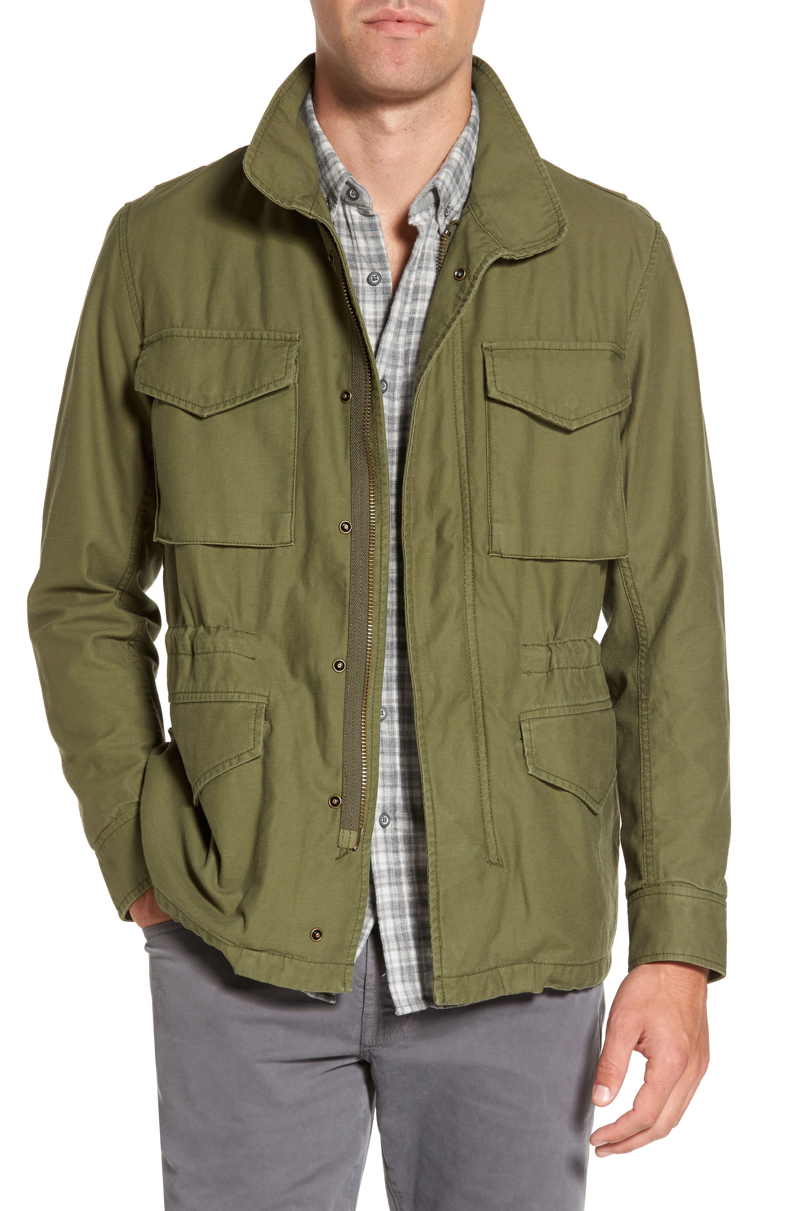 Jameson Field Jacket,                         Main,                         color, Climbing Ivy
