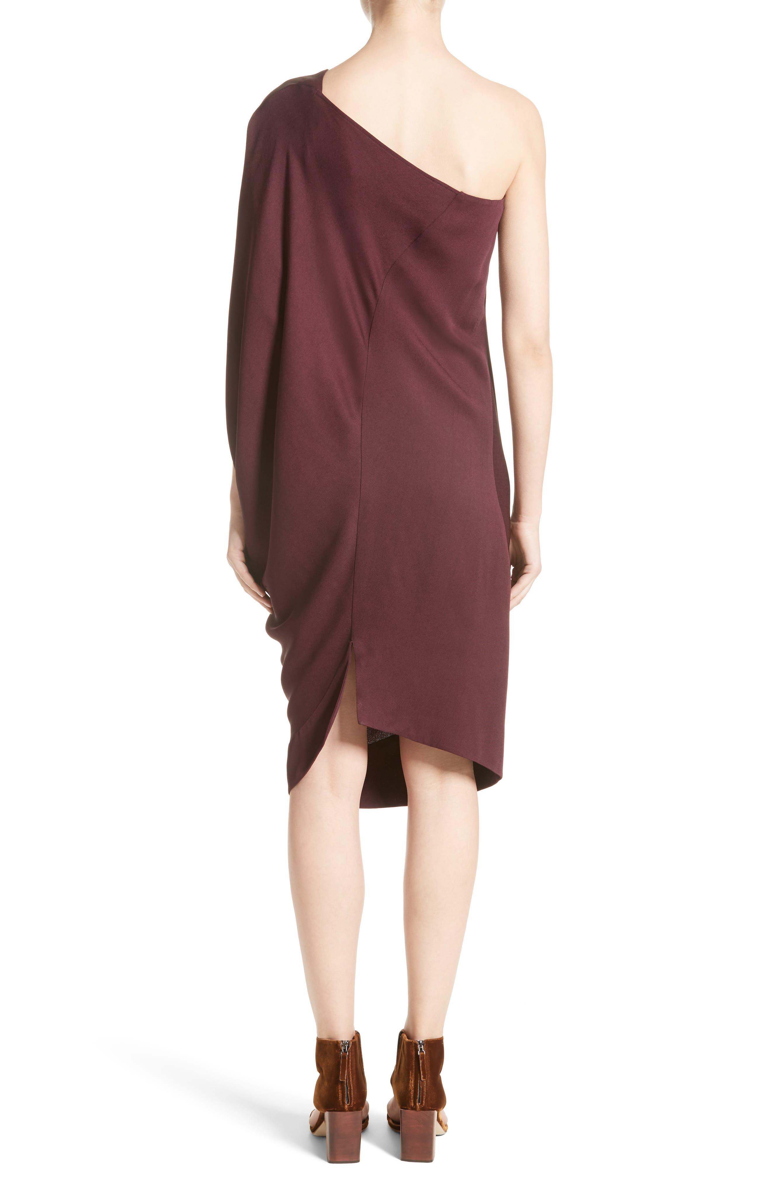 Alternate Image 2  - Zero + Maria Cornejo Lui Eco Drape One-Shoulder Dress