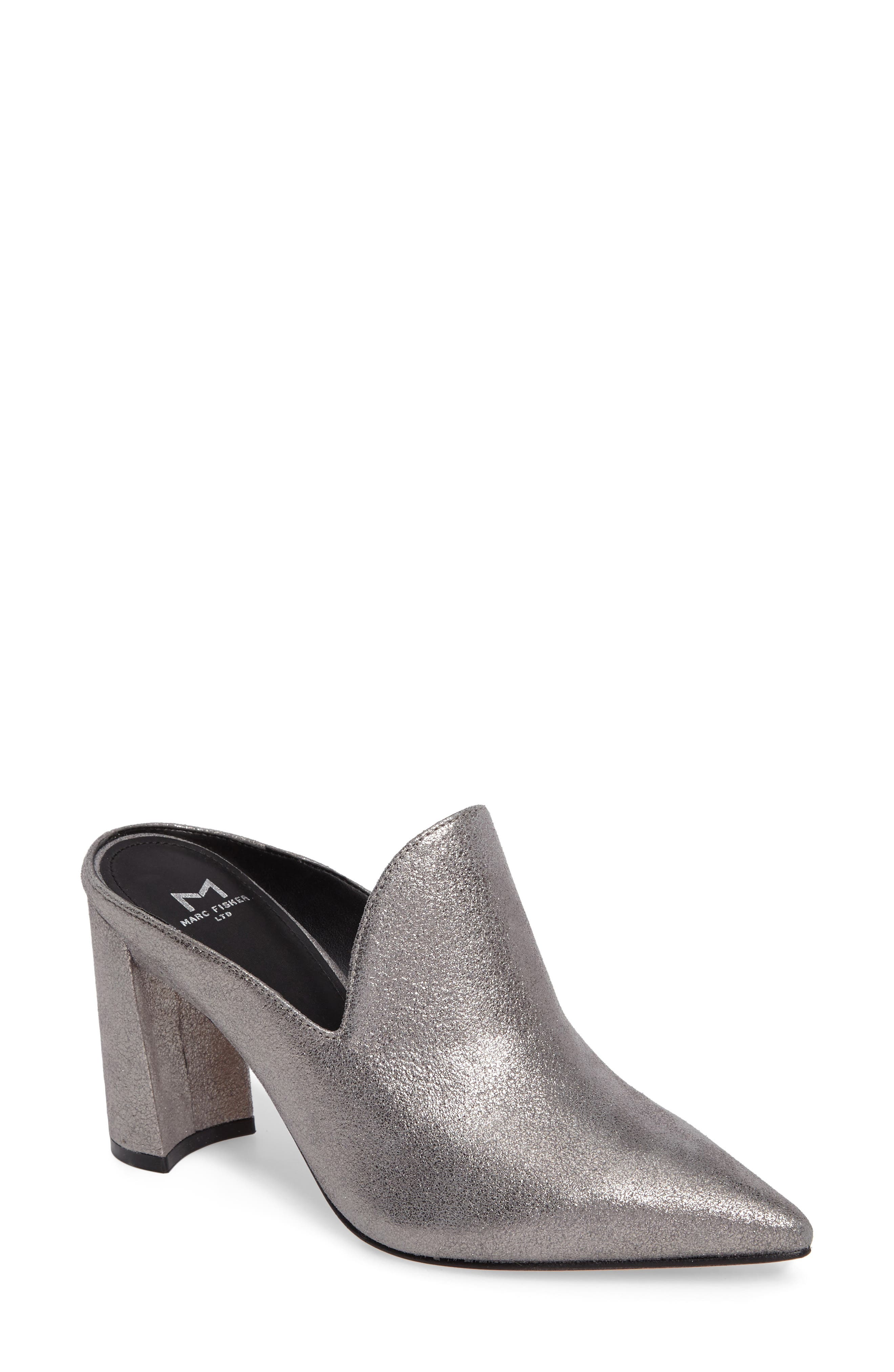 Alternate Image 1 Selected - Marc Fisher LTD Hilda Pointy Toe Mule (Women)