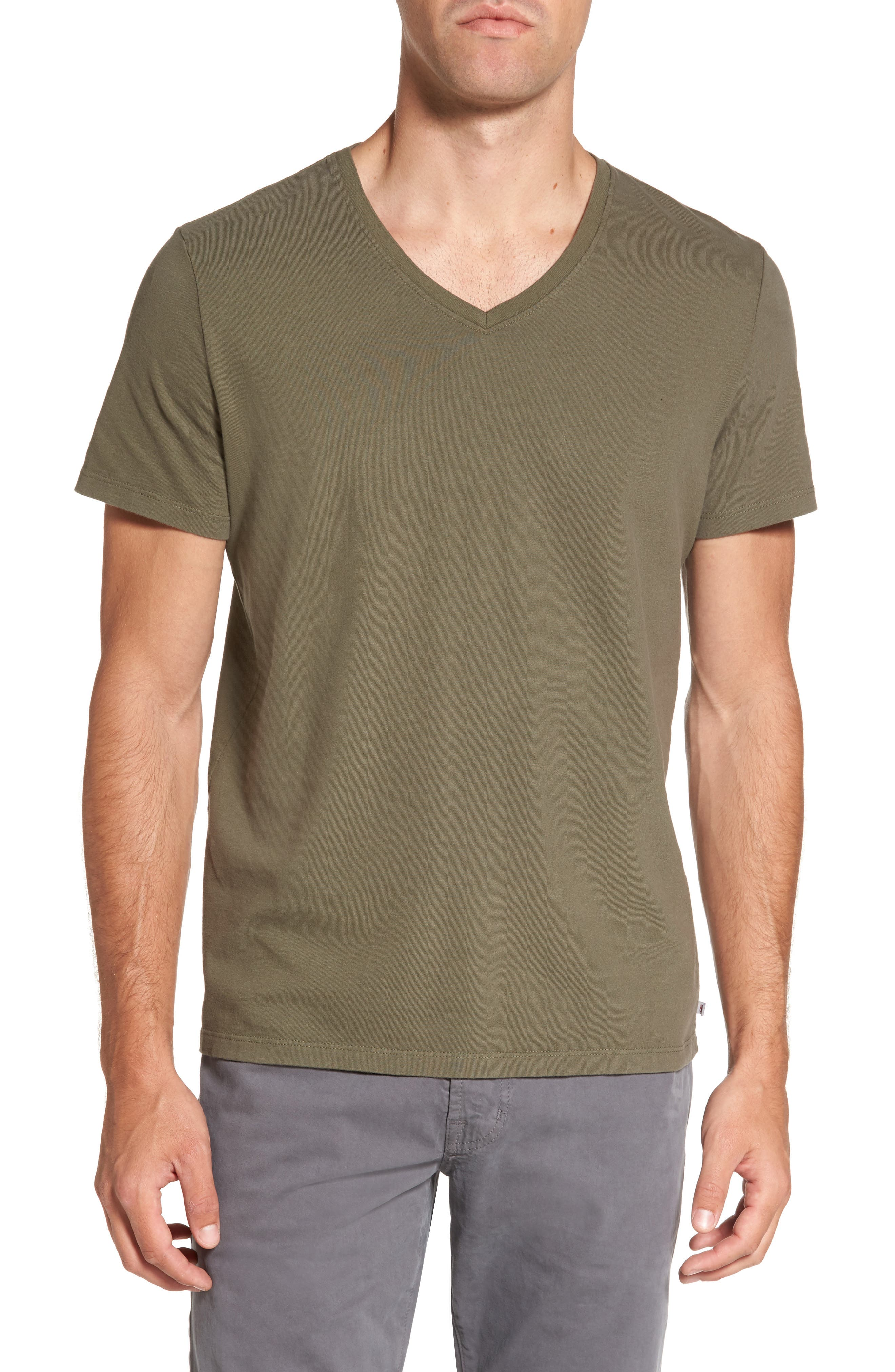 Alternate Image 1 Selected - AG 'Commute' V-Neck T-Shirt
