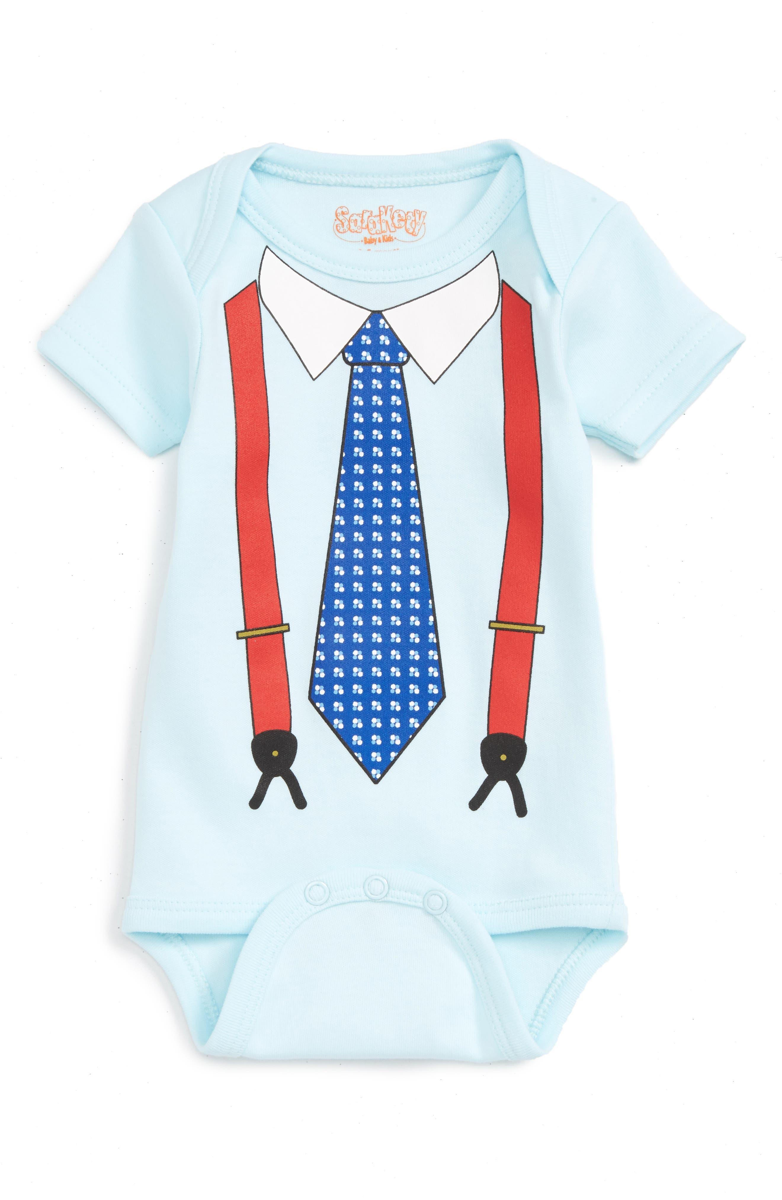 Main Image - Sara Kety Baby & Kids Graphic Print Bodysuit (Baby Boys)