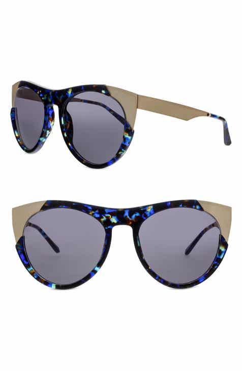 172151244b1 SMOKE X MIRRORS Zoubisou 53mm Cat Eye Sunglasses