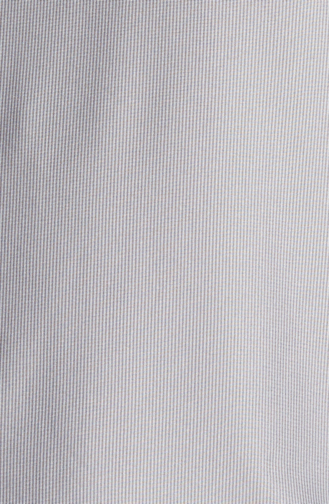 Alternate Image 5  - Cutter & Buck Cunningham Stripe Jersey Polo
