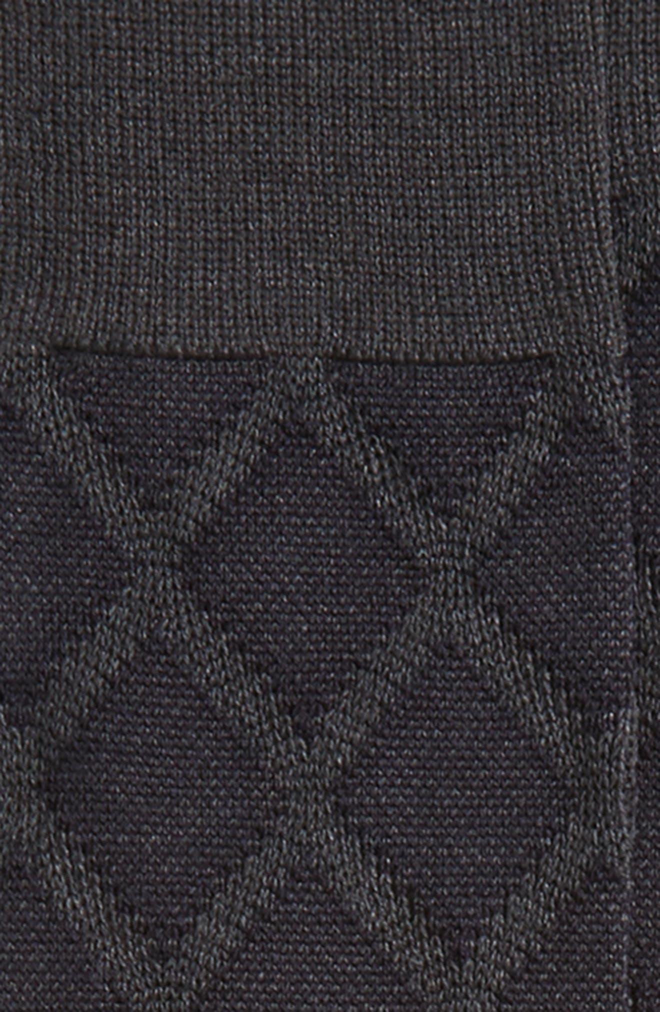 Alternate Image 2  - John W. Nordstrom® Over the Calf Diamond Socks