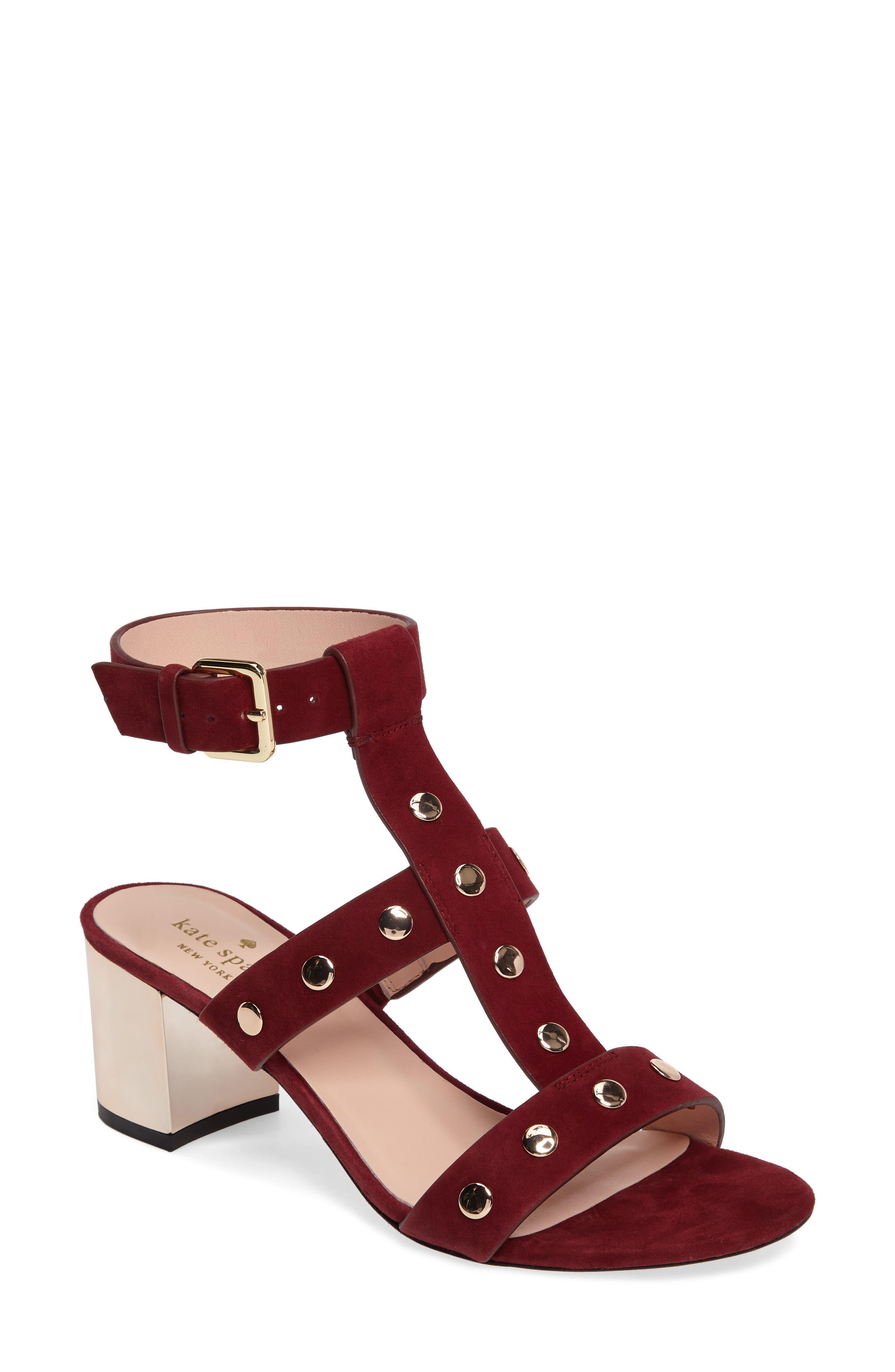 Main Image - kate spade new york welby t-strap sandal (Women)