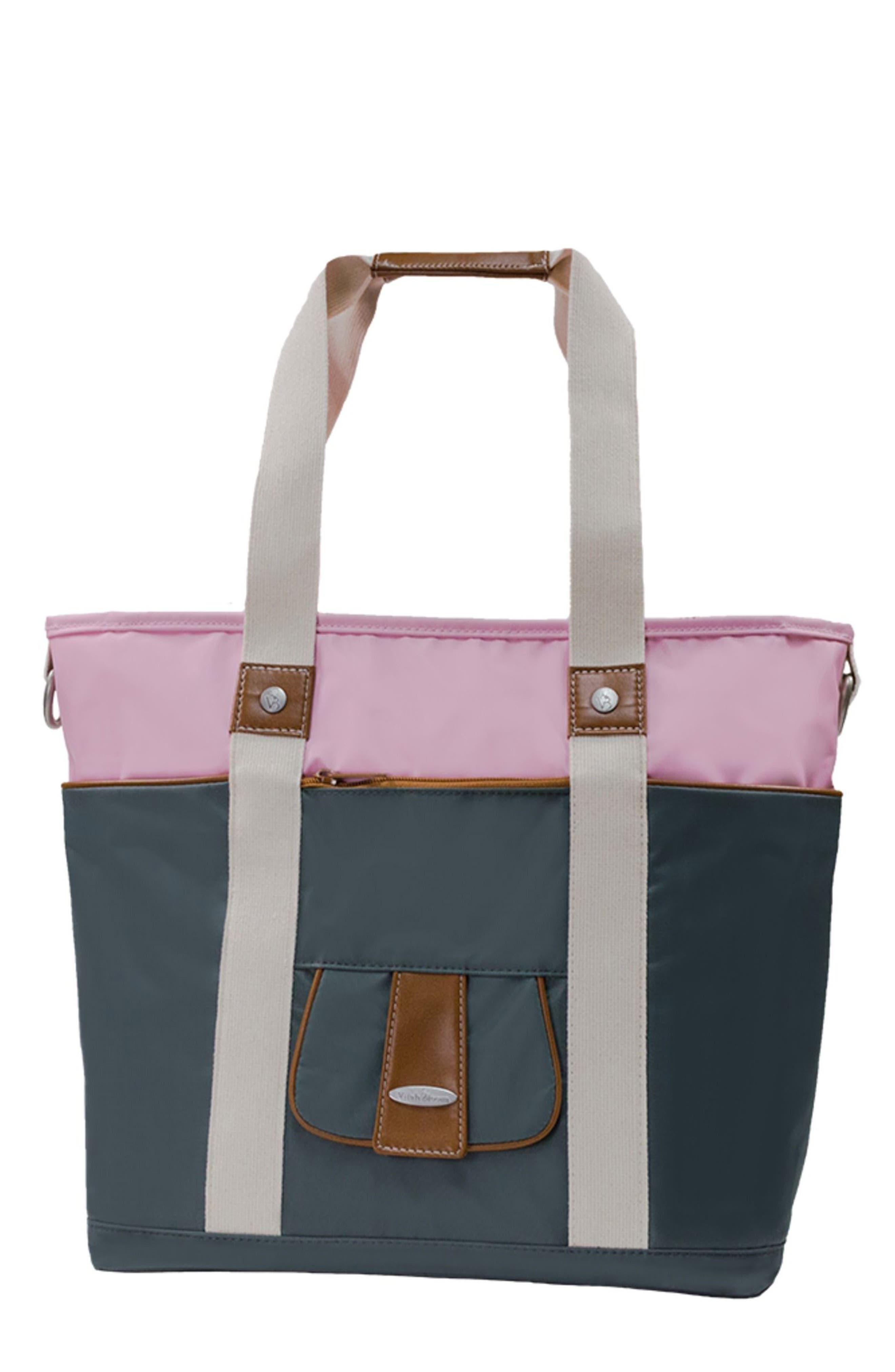 Alternate Image 1 Selected - Vilah Bloom Harbor Side Tote Diaper Bag