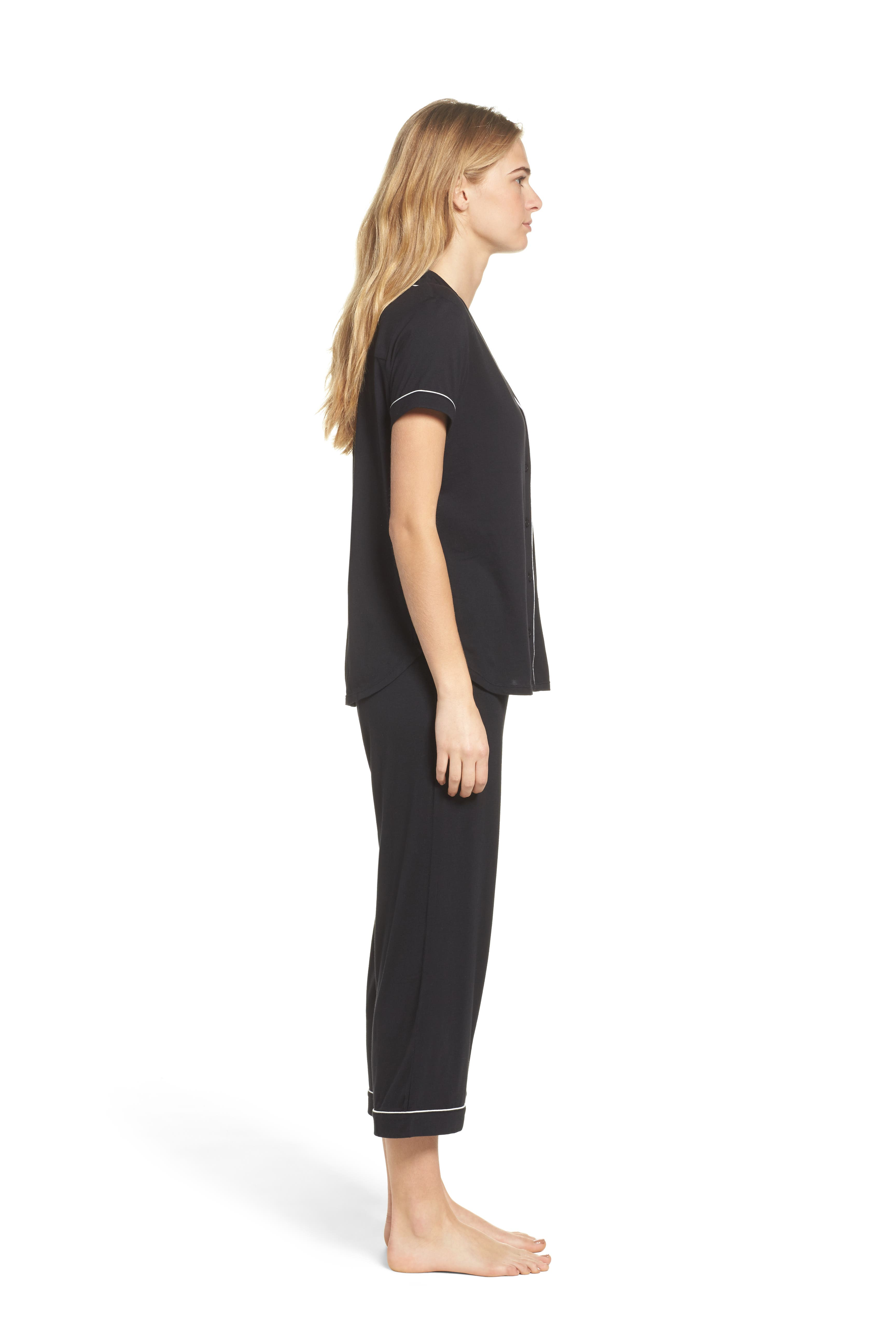 Alternate Image 3  - kate spade new york capri pajamas