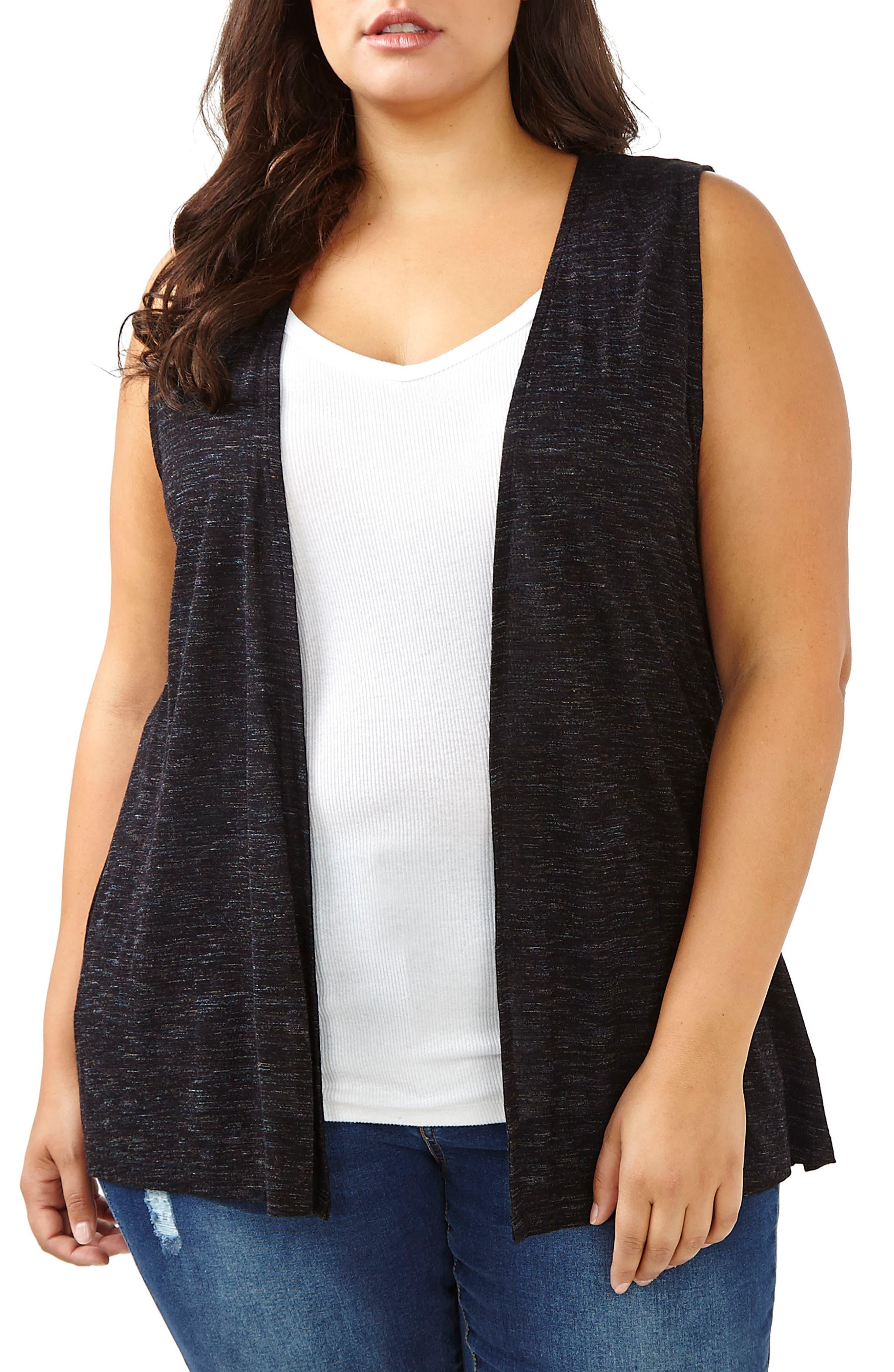 ADDITION ELLE LOVE AND LEGEND Lace-Up Back Vest