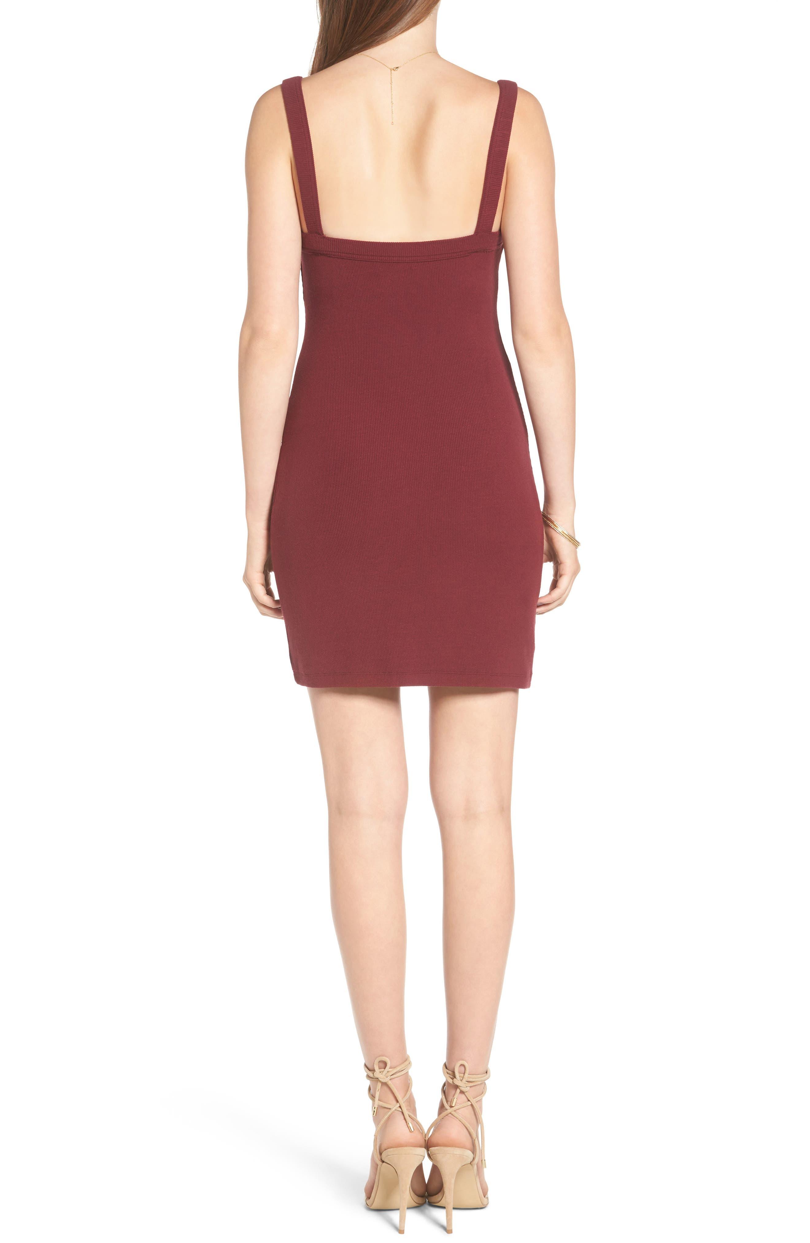 Alternate Image 2  - Privacy Please Bradian Body-Con Dress