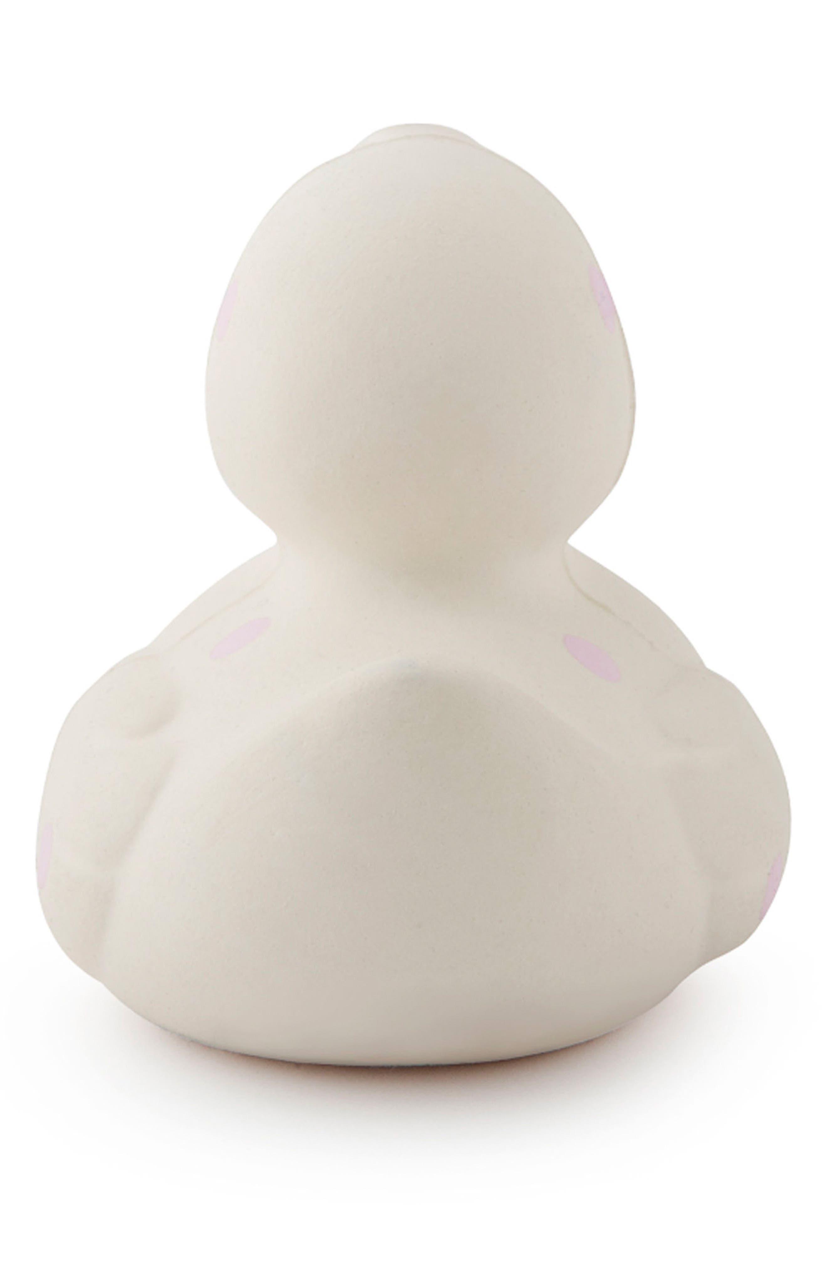 Alternate Image 2  - Oli and Carol Polka Dot Ducky Toy