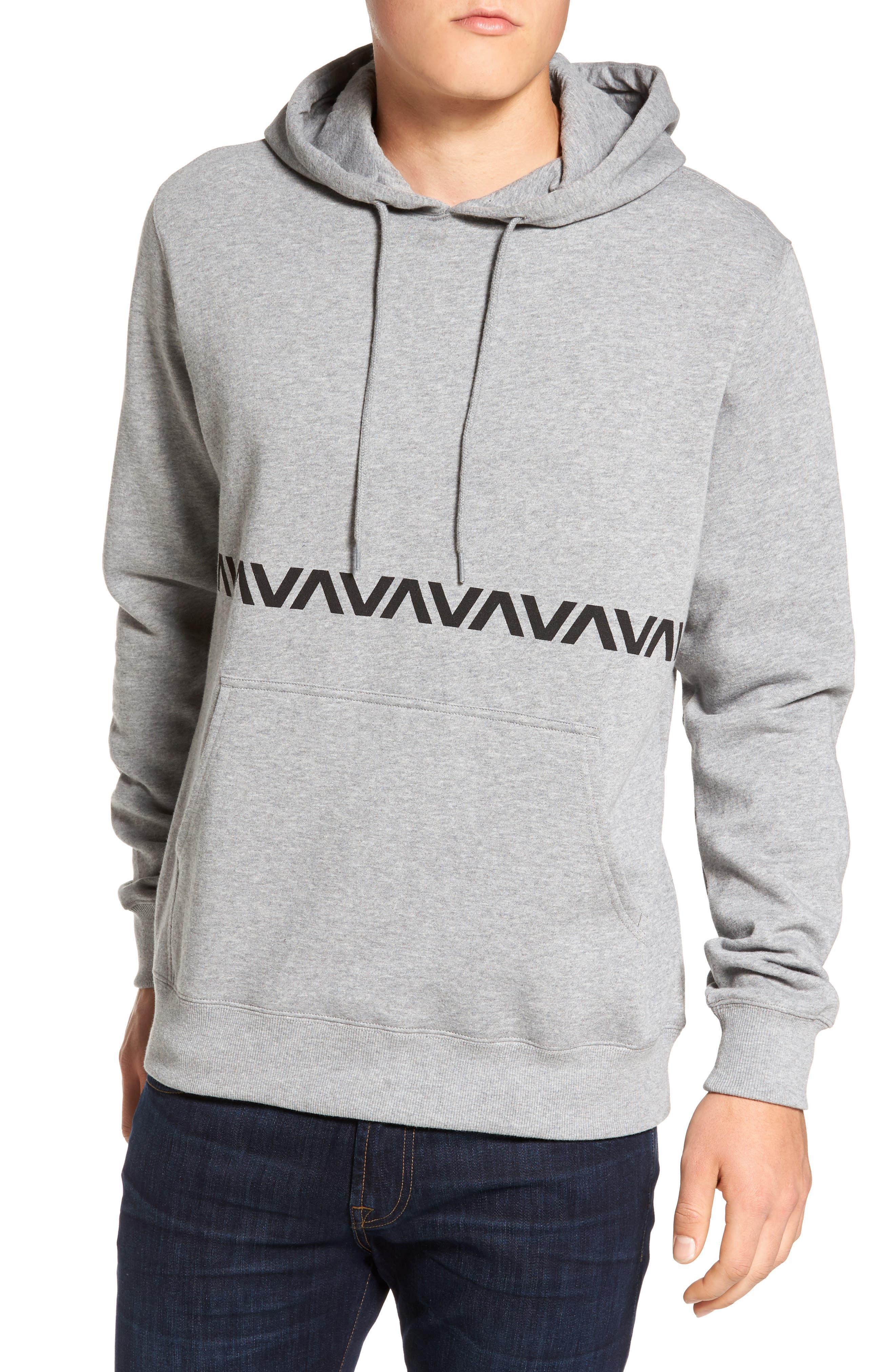 VA Screenprint Hoodie,                         Main,                         color, Grey
