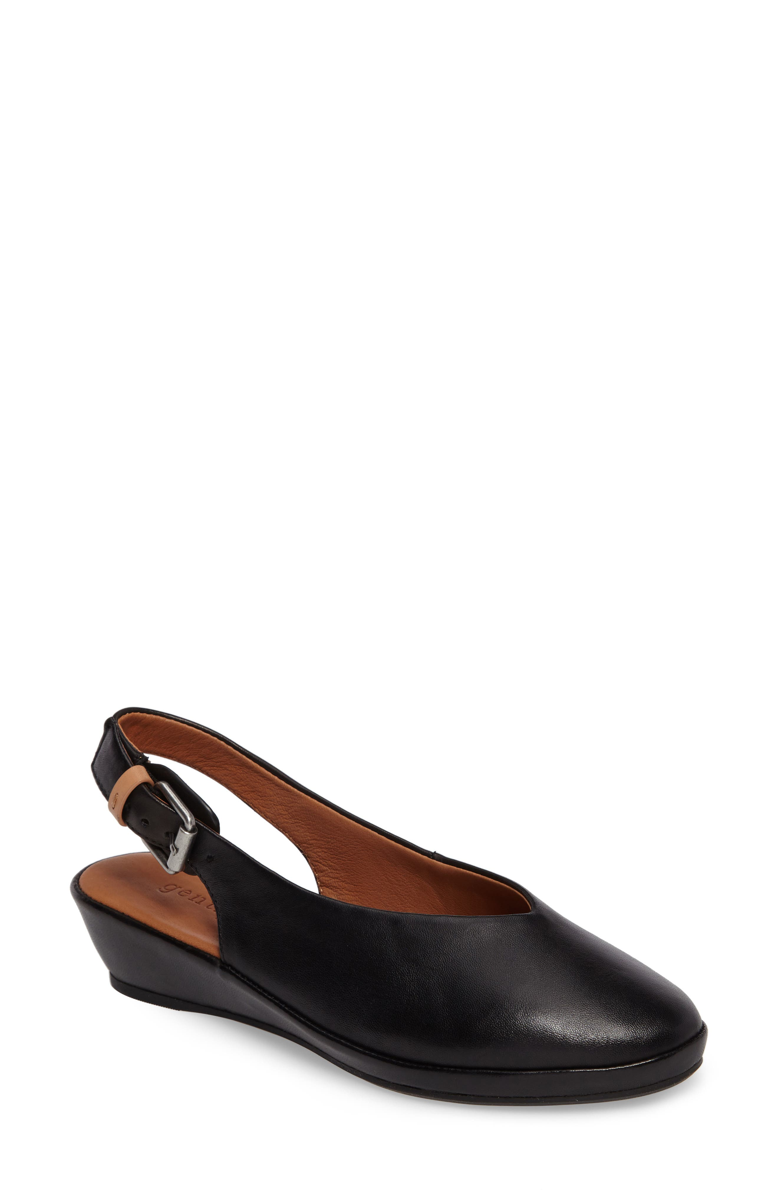 Alternate Image 1 Selected - Gentle Souls Noemi Slingback Wedge (Women)