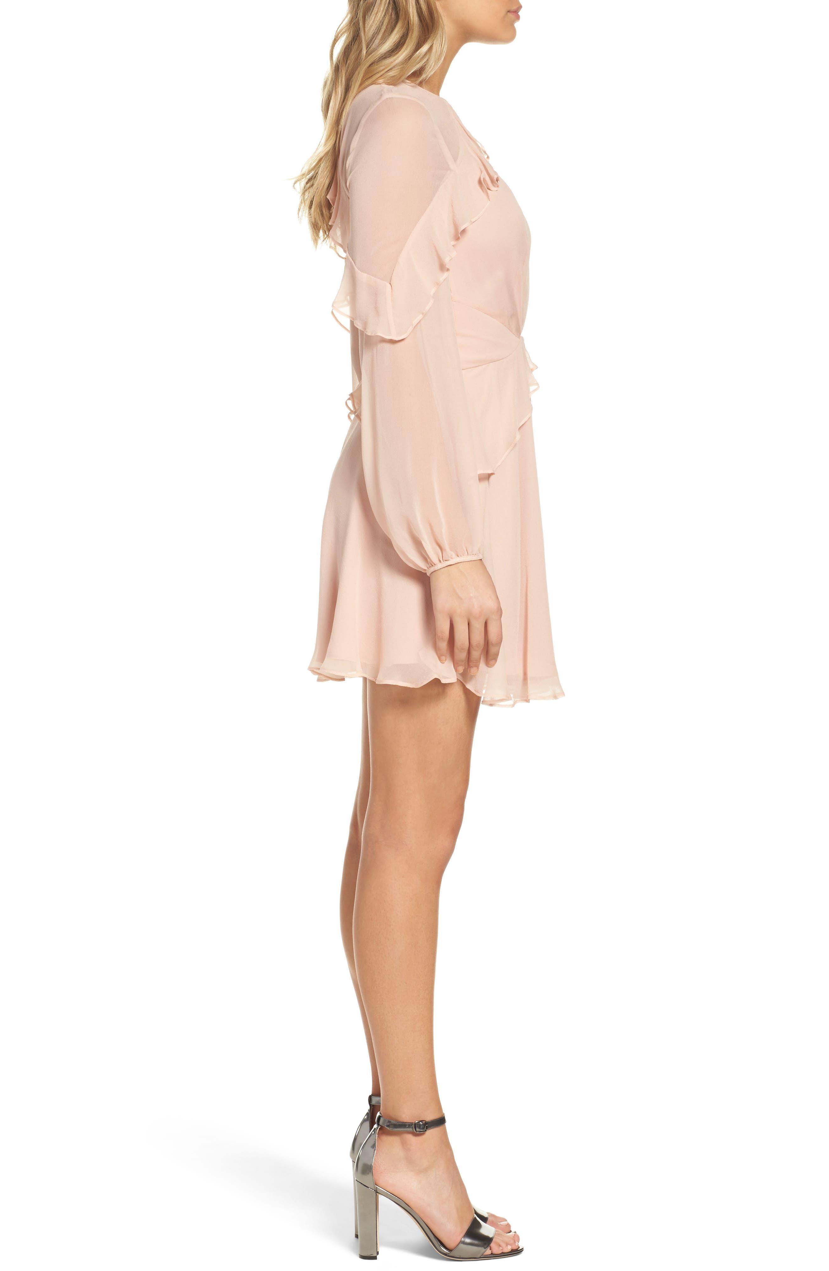 Alternate Image 4  - Greylin Libbie Ruffle Silk Dress