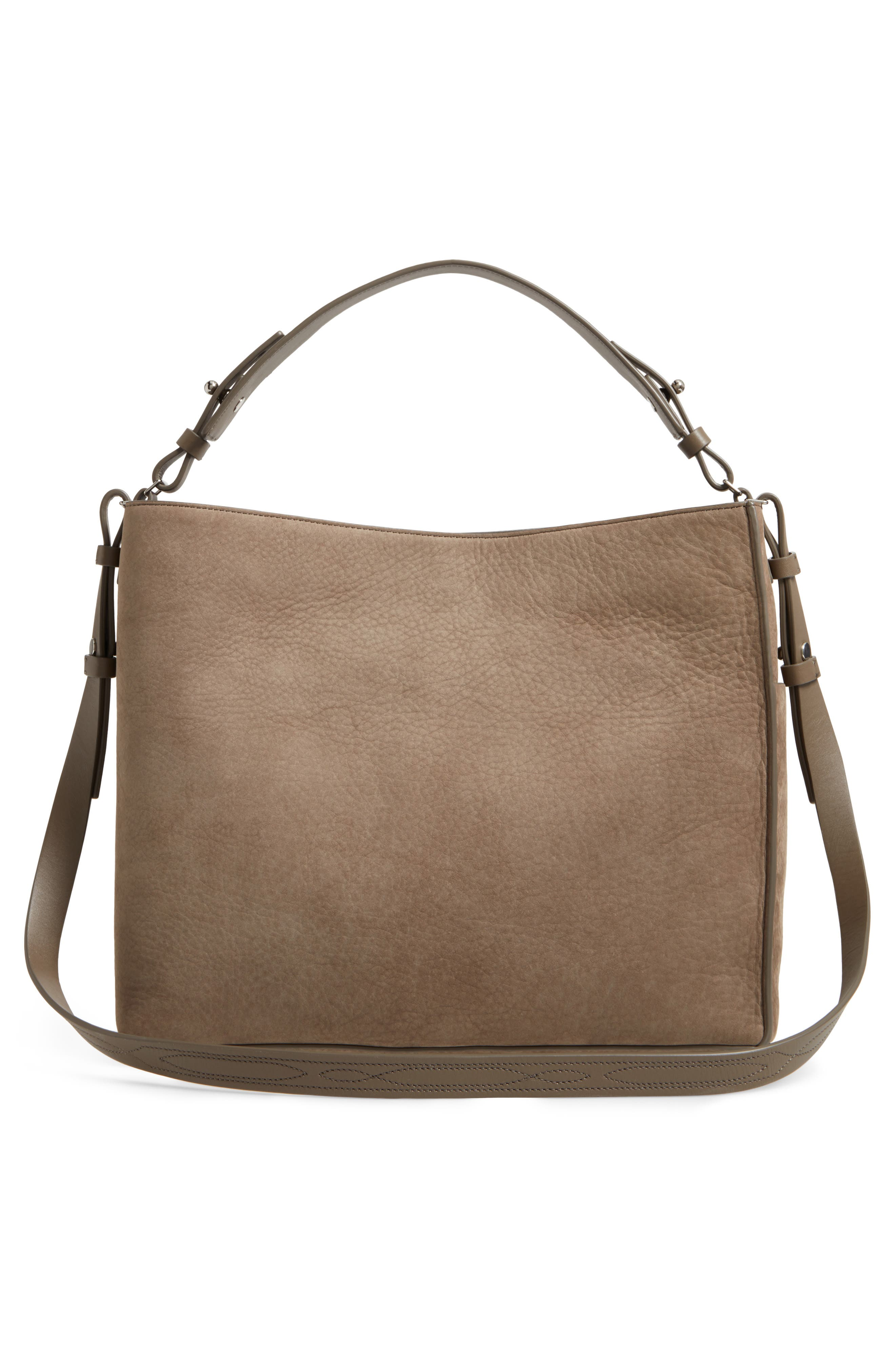 Alternate Image 3  - ALLSAINTS Cooper Nubuck Calfskin Leather Tote