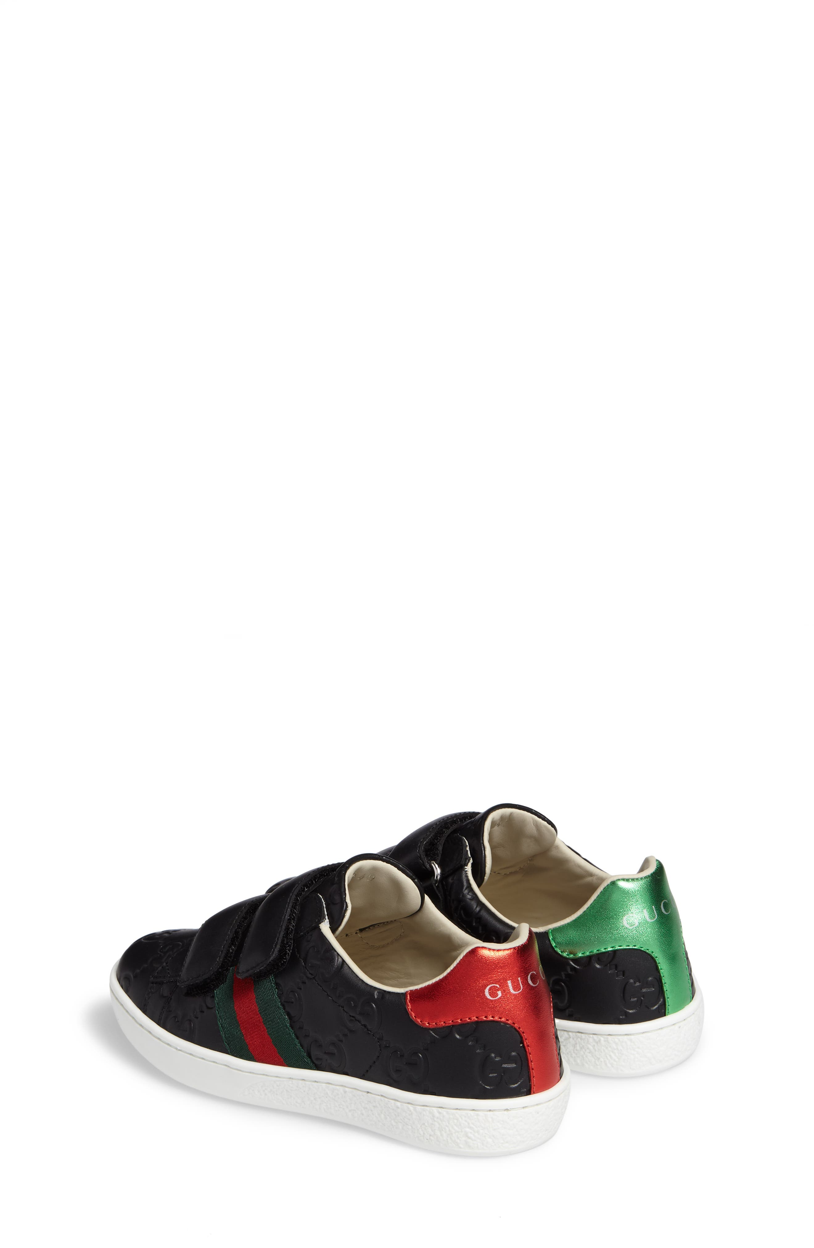 Alternate Image 2  - Gucci New Ace Sneaker (Toddler & Little Kid)