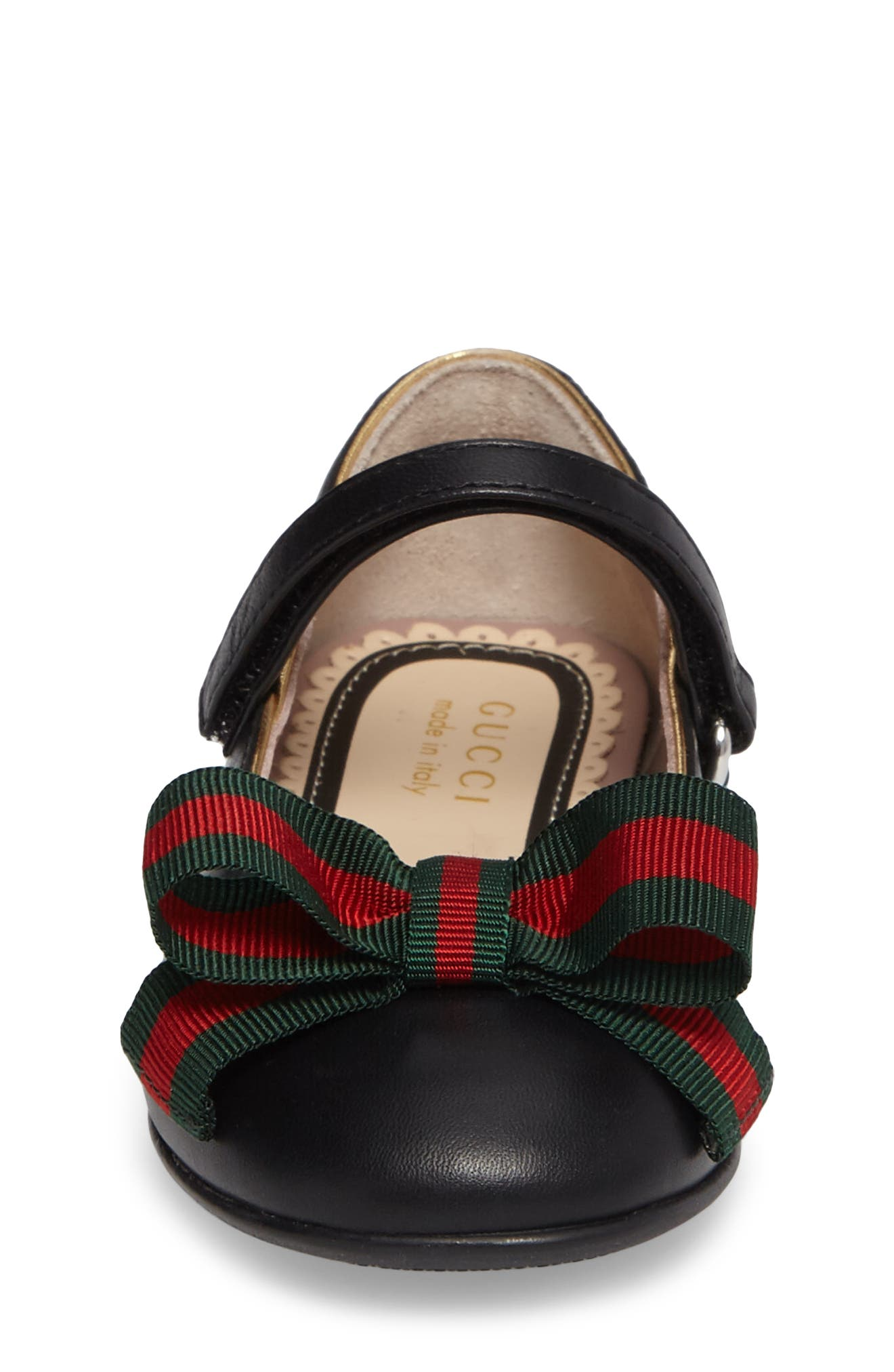 Alternate Image 4  - Gucci Cindy Mary Jane Flat (Baby, Walker, Toddler & Little Kid)