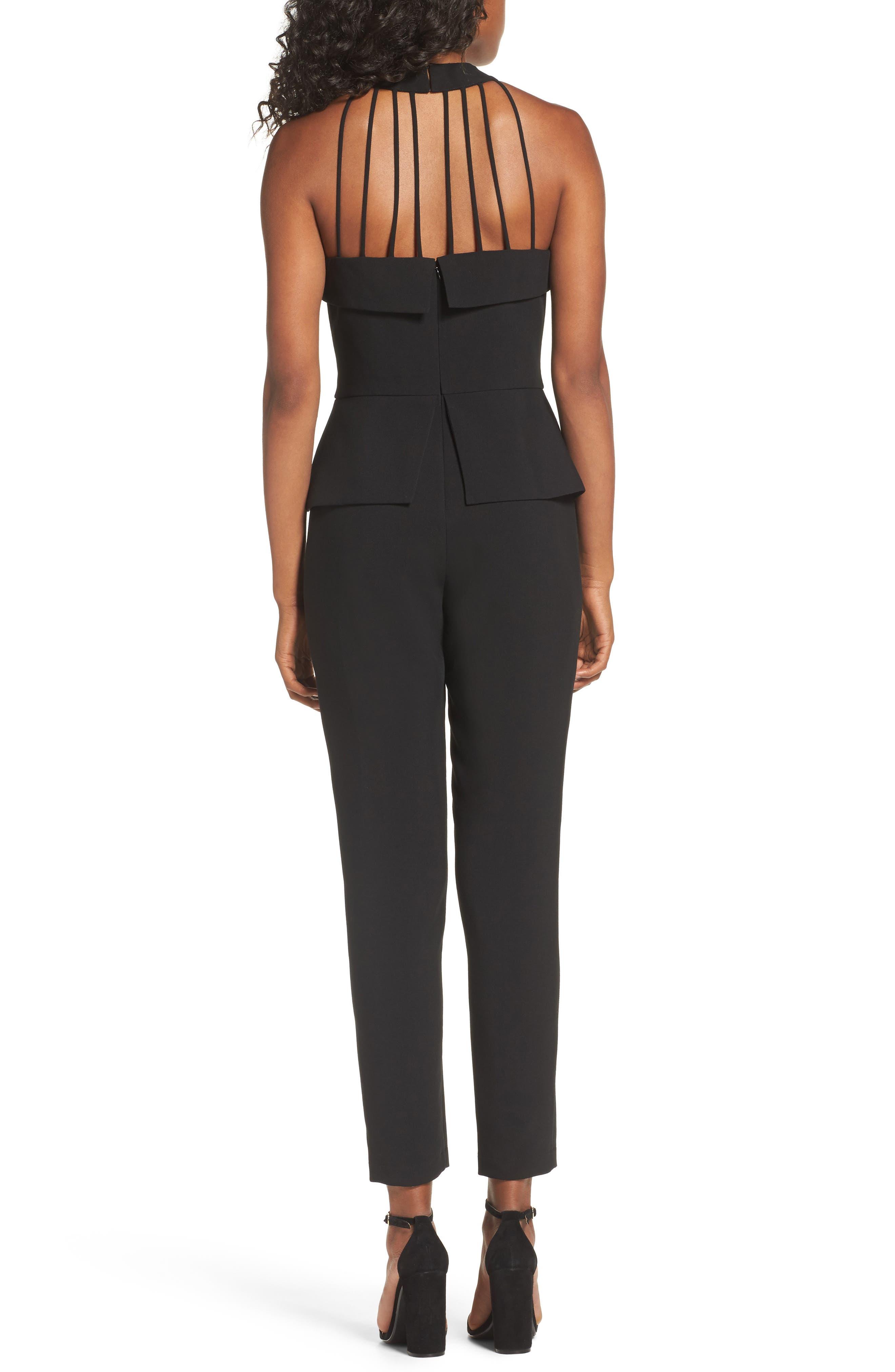 Marlena Jumpsuit,                             Alternate thumbnail 2, color,                             Black