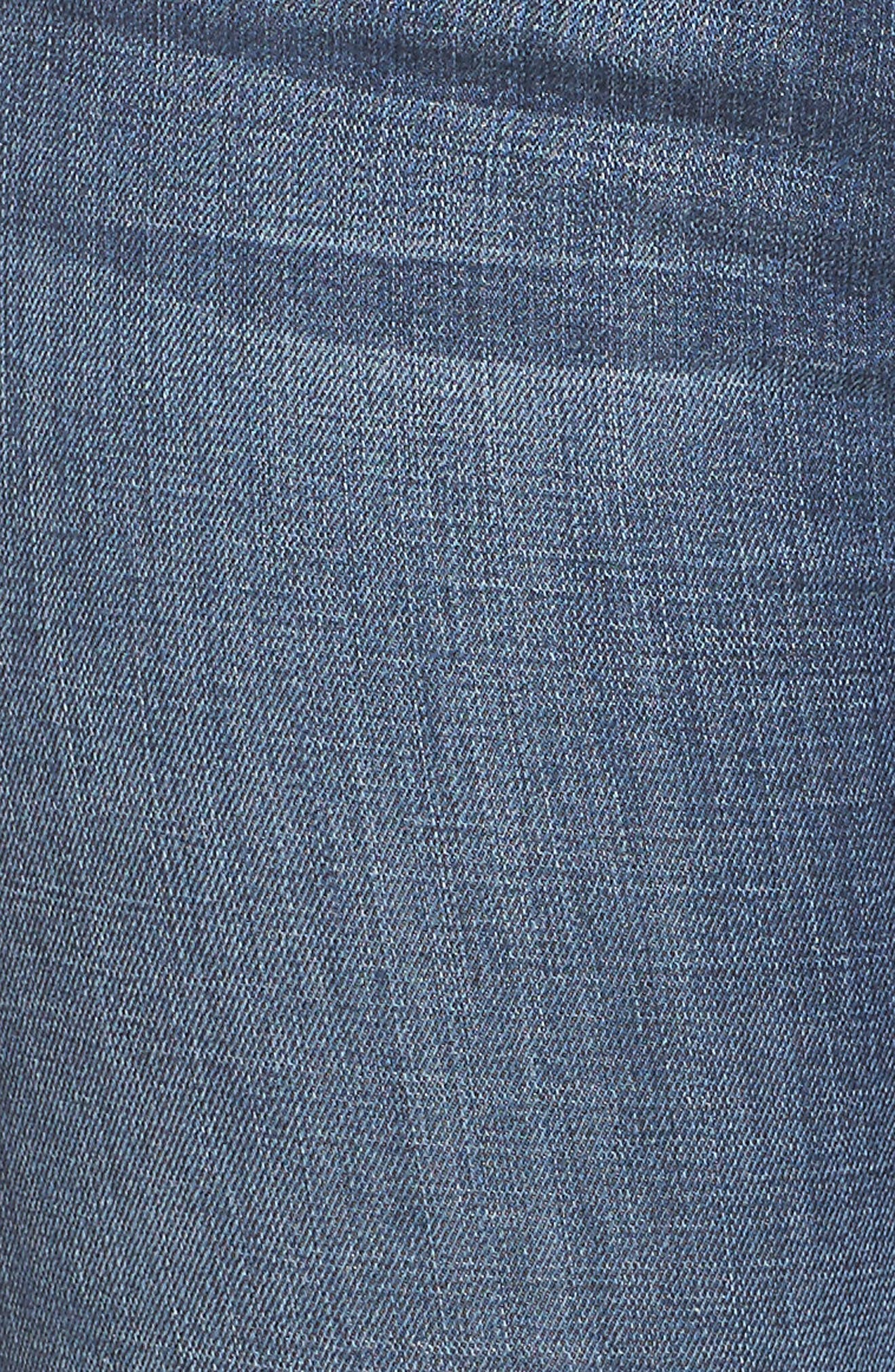 Alternate Image 11  - Good American Good Legs High Waist Ankle Skinny Jeans (Blue 084) (Regular & Plus Size)