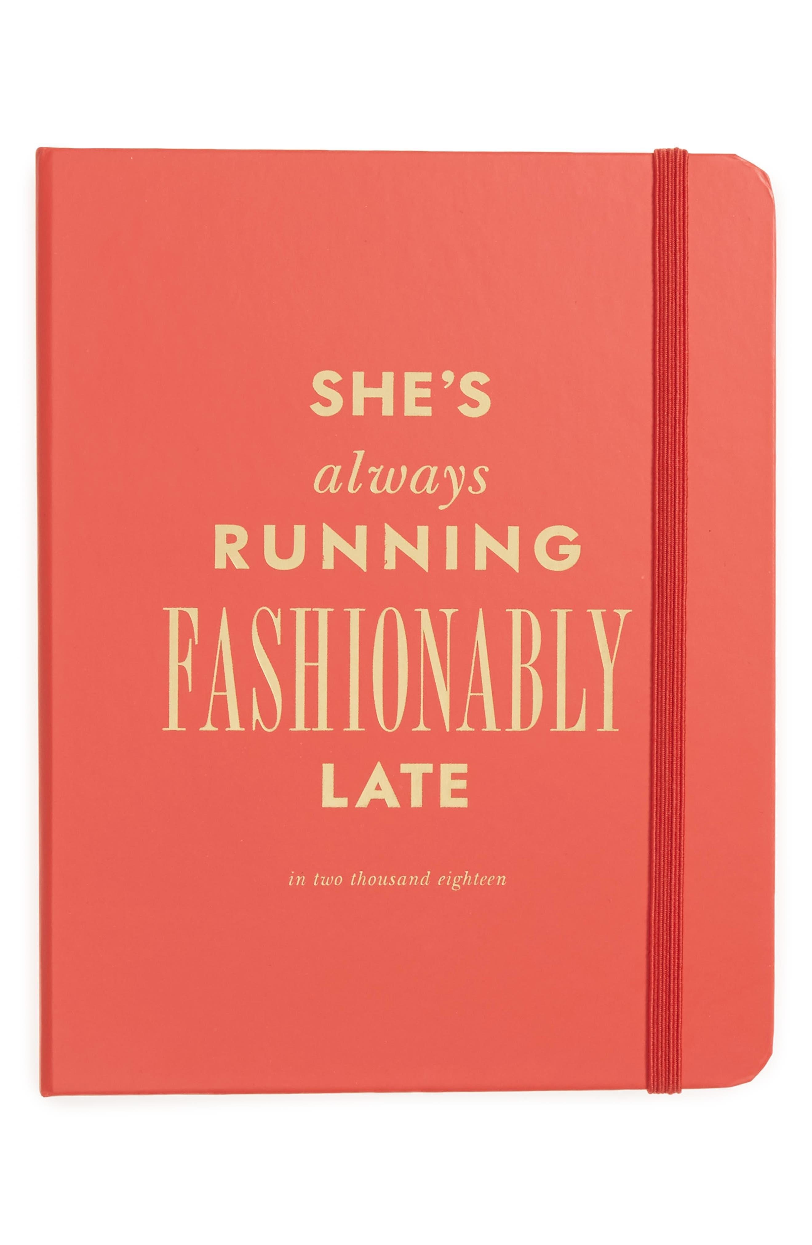 medium 17-month agenda,                         Main,                         color, Fashionably Late