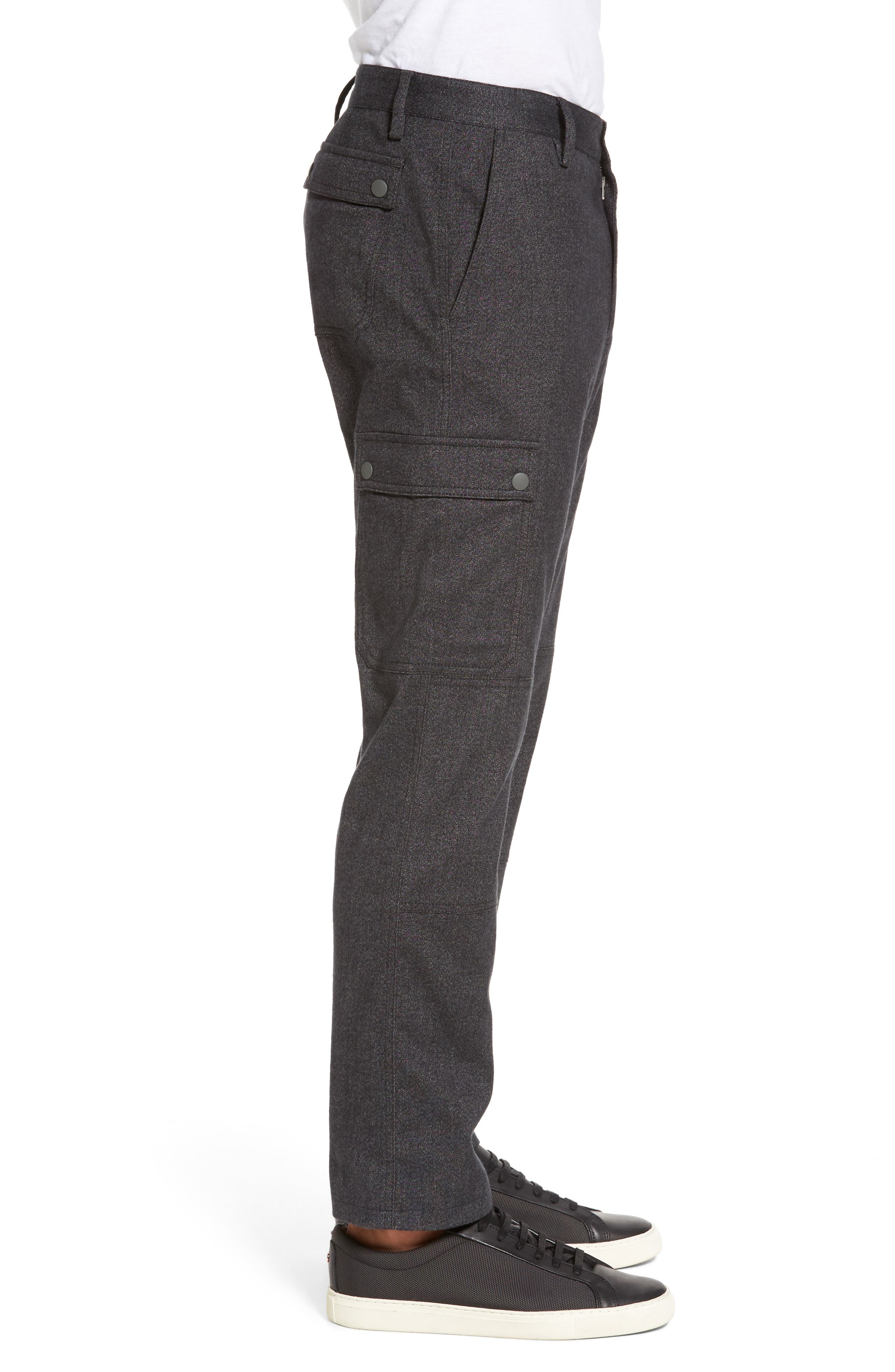 Rainer Cargo Pants,                             Alternate thumbnail 3, color,                             Dark Grey