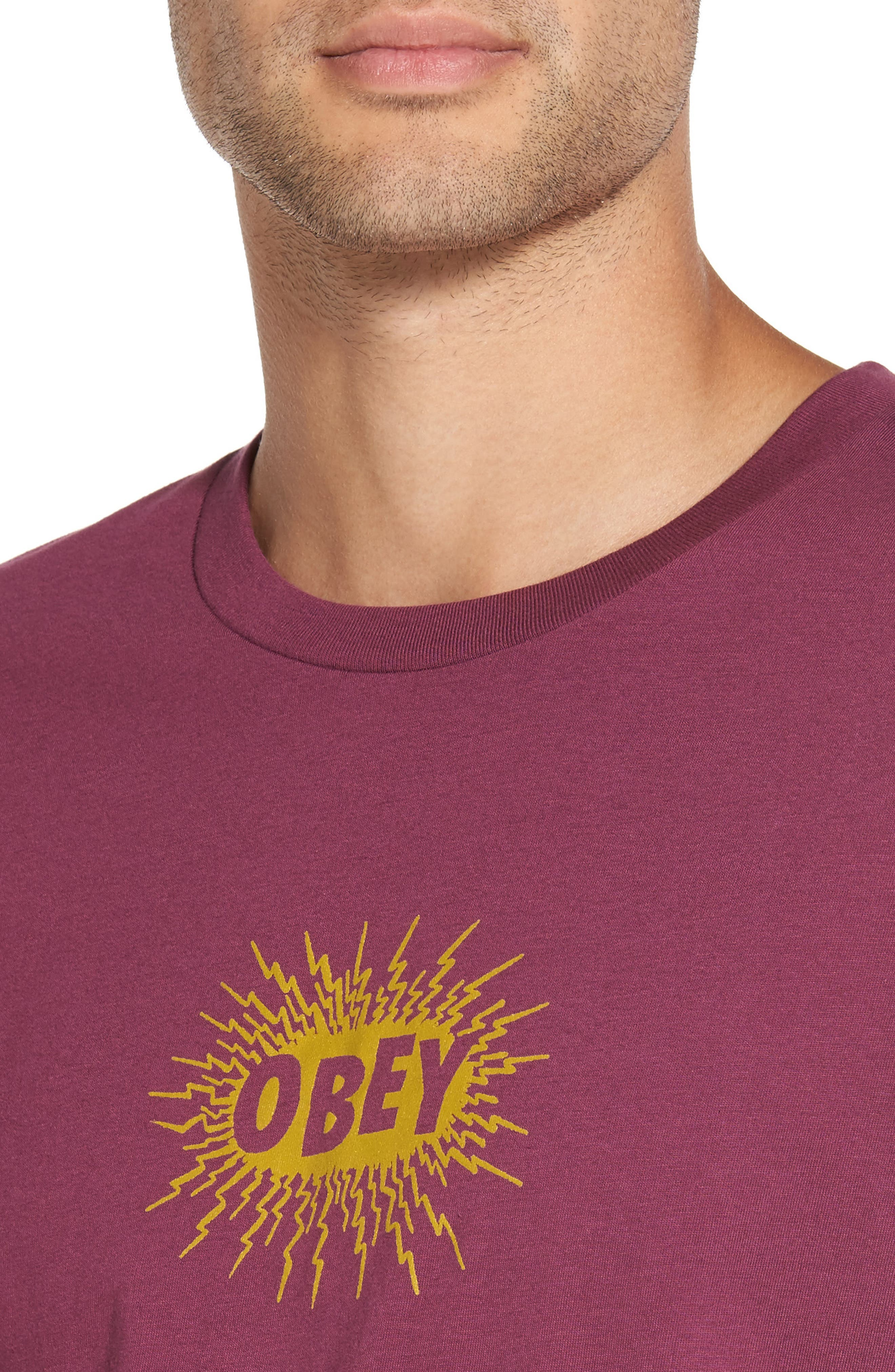 Alternate Image 4  - Obey Spazz Graphic T-Shirt