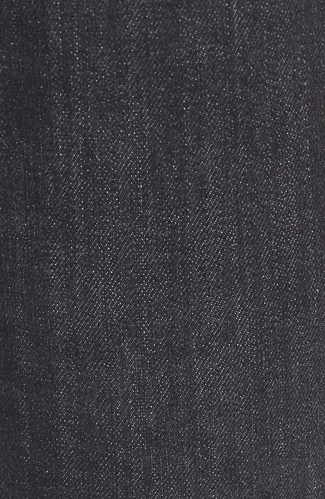 Hudson Barbara High Waist Super Skinny Jeans,                             Alternate thumbnail 5, color,                             Disarm