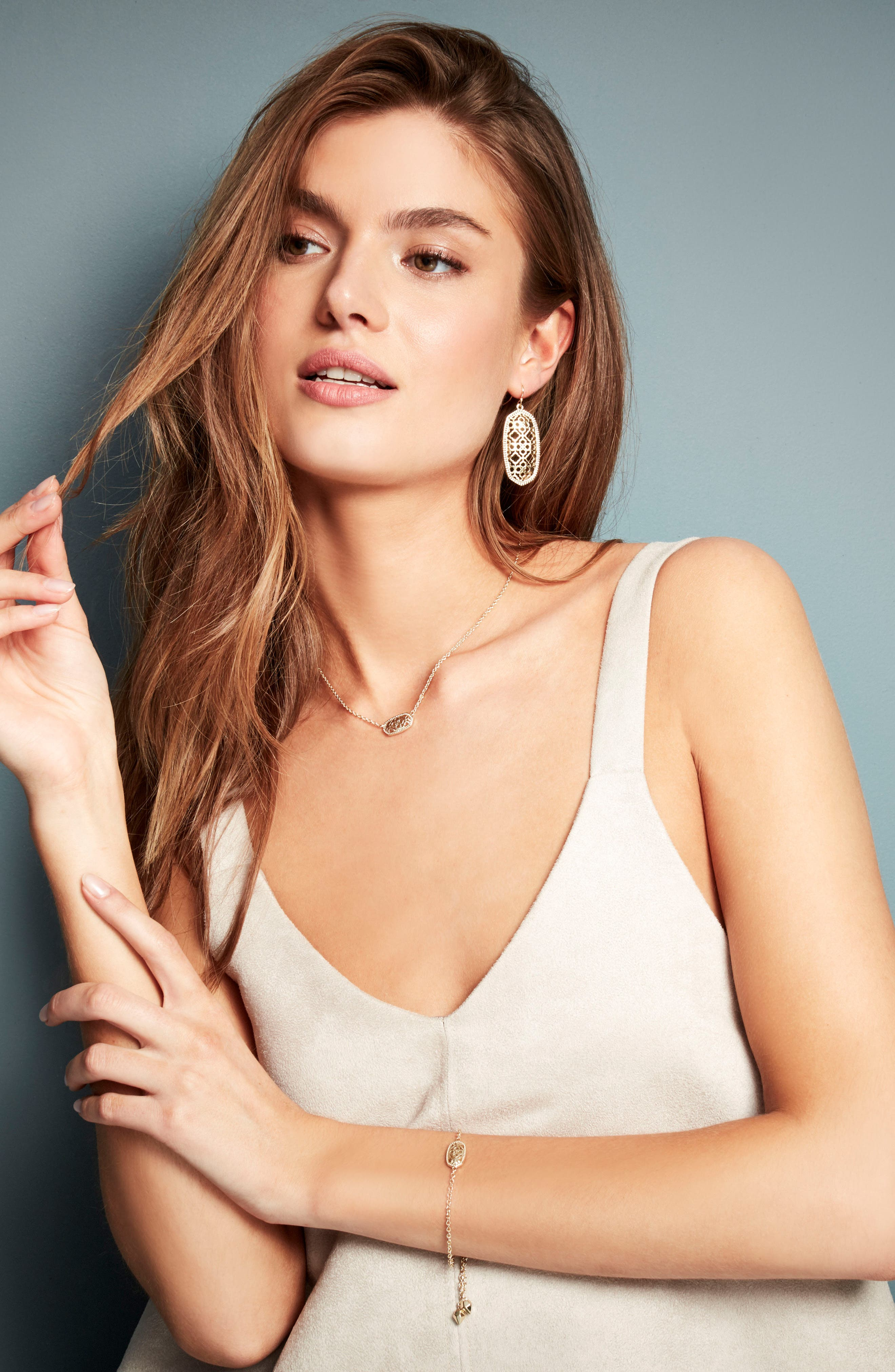 Alternate Image 4  - Kendra Scott Elle Filigree Drop Earrings