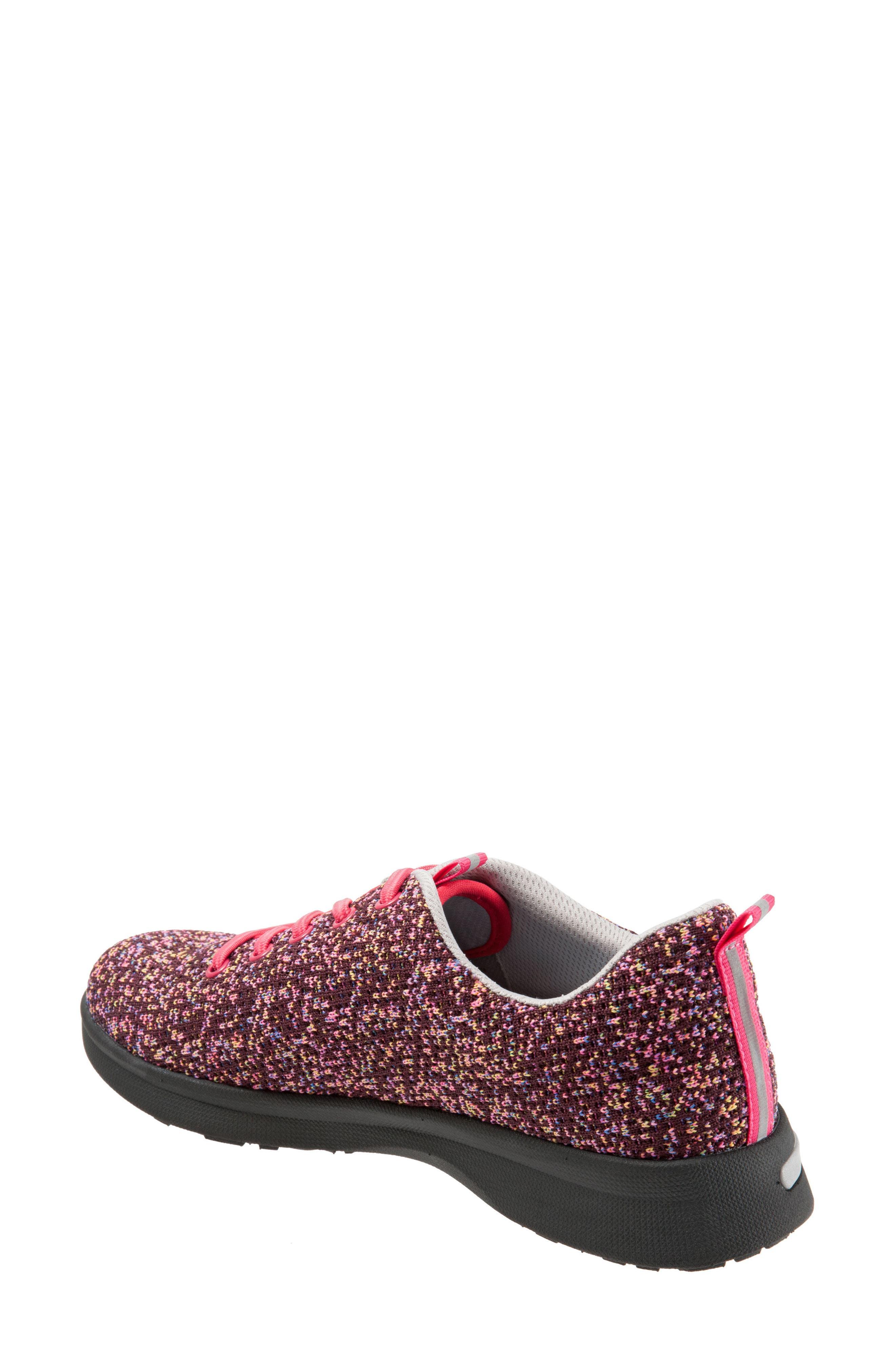 Sampson Sneaker,                             Alternate thumbnail 2, color,                             Pink Multi Fabric